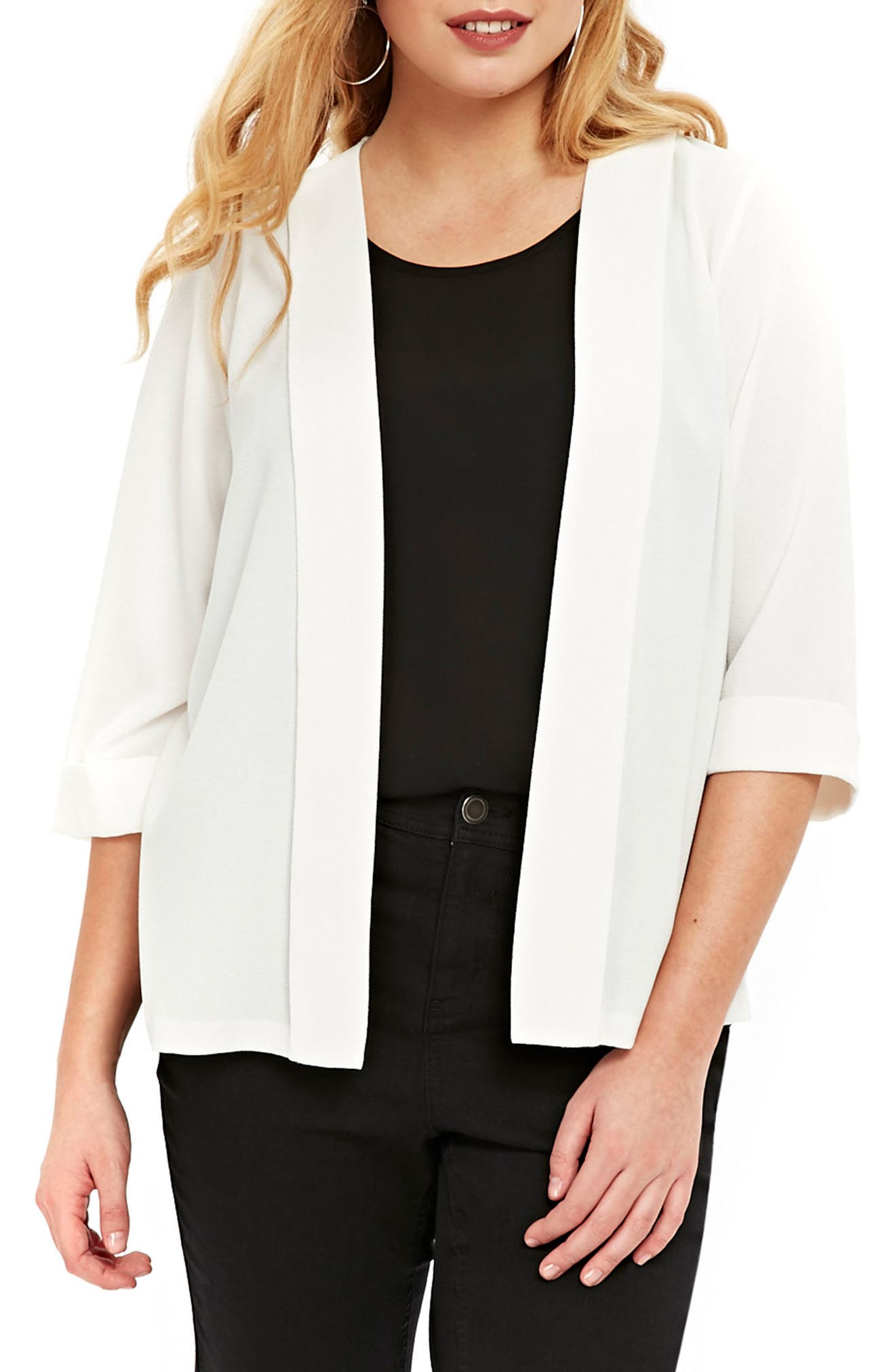Evans Panel Jacket (Plus Size)