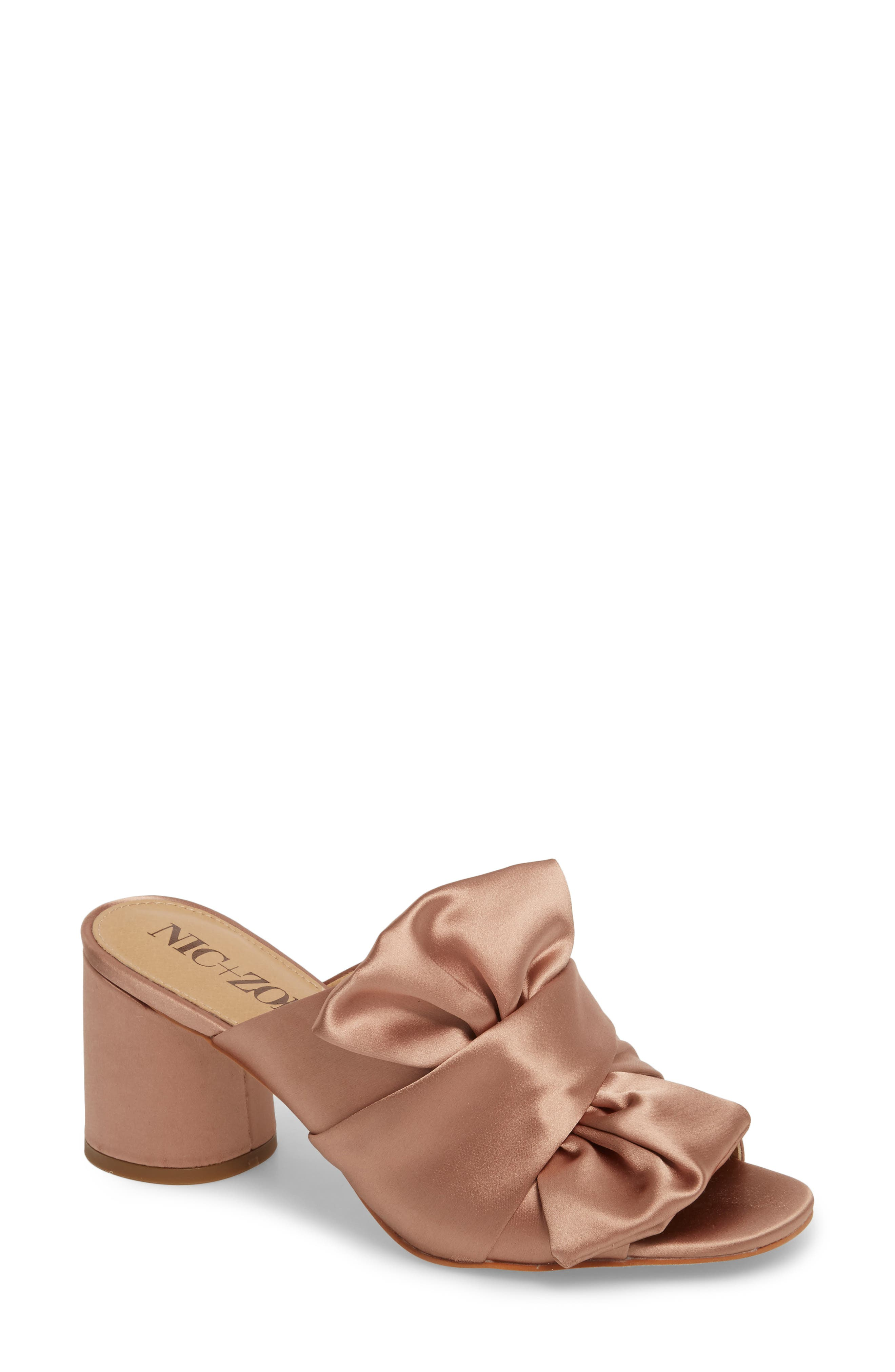 NIC+ZOE Poppy Bow Mule (Women)