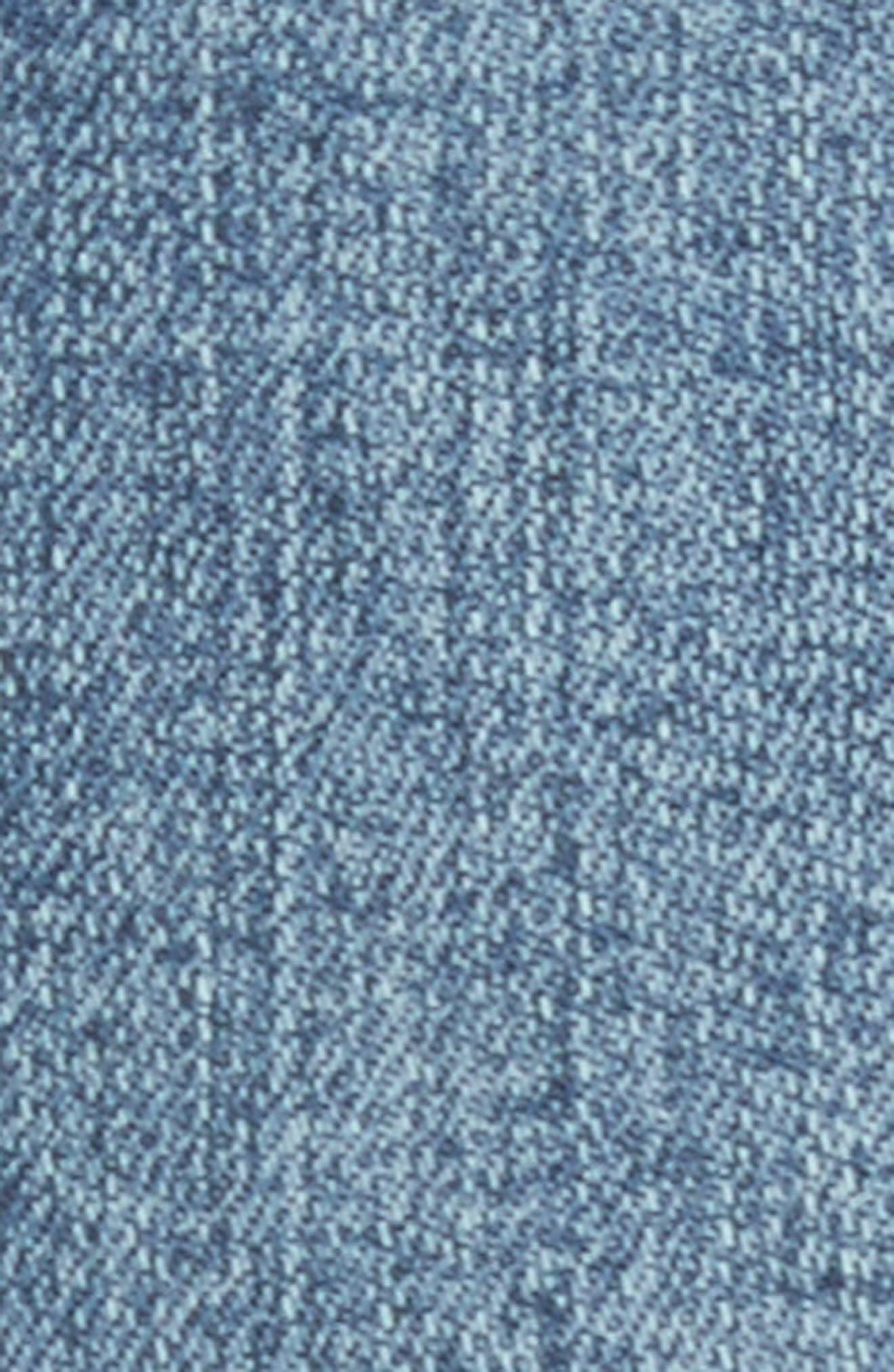 Flare Jeans,                             Alternate thumbnail 5, color,                             Blue