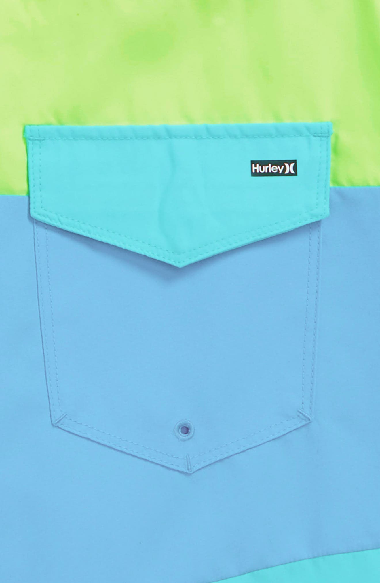 Triple Threat Board Shorts,                             Alternate thumbnail 3, color,                             Ghost Green