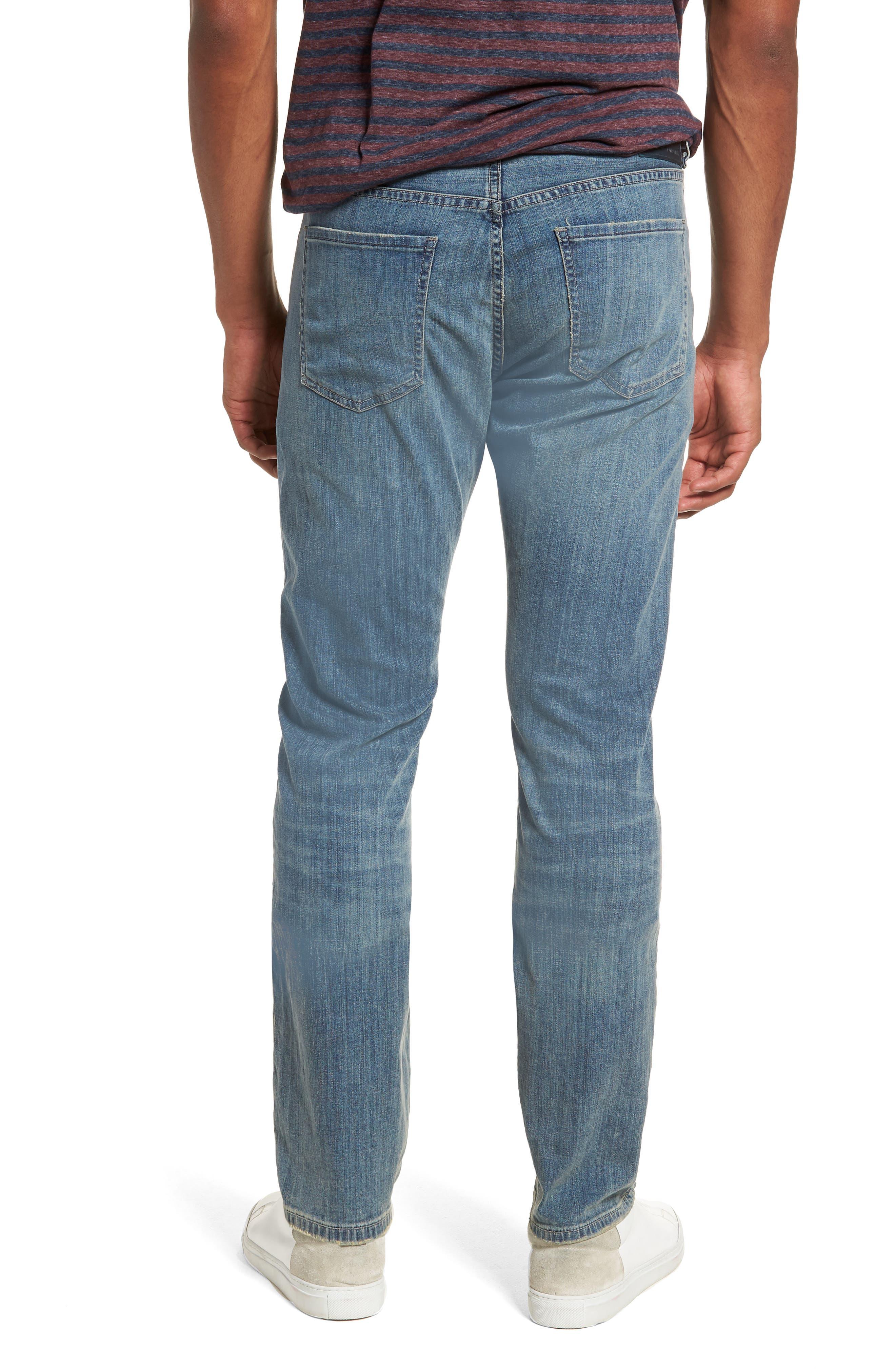 Gage Slim Straight Leg Jeans,                             Alternate thumbnail 2, color,                             Costa