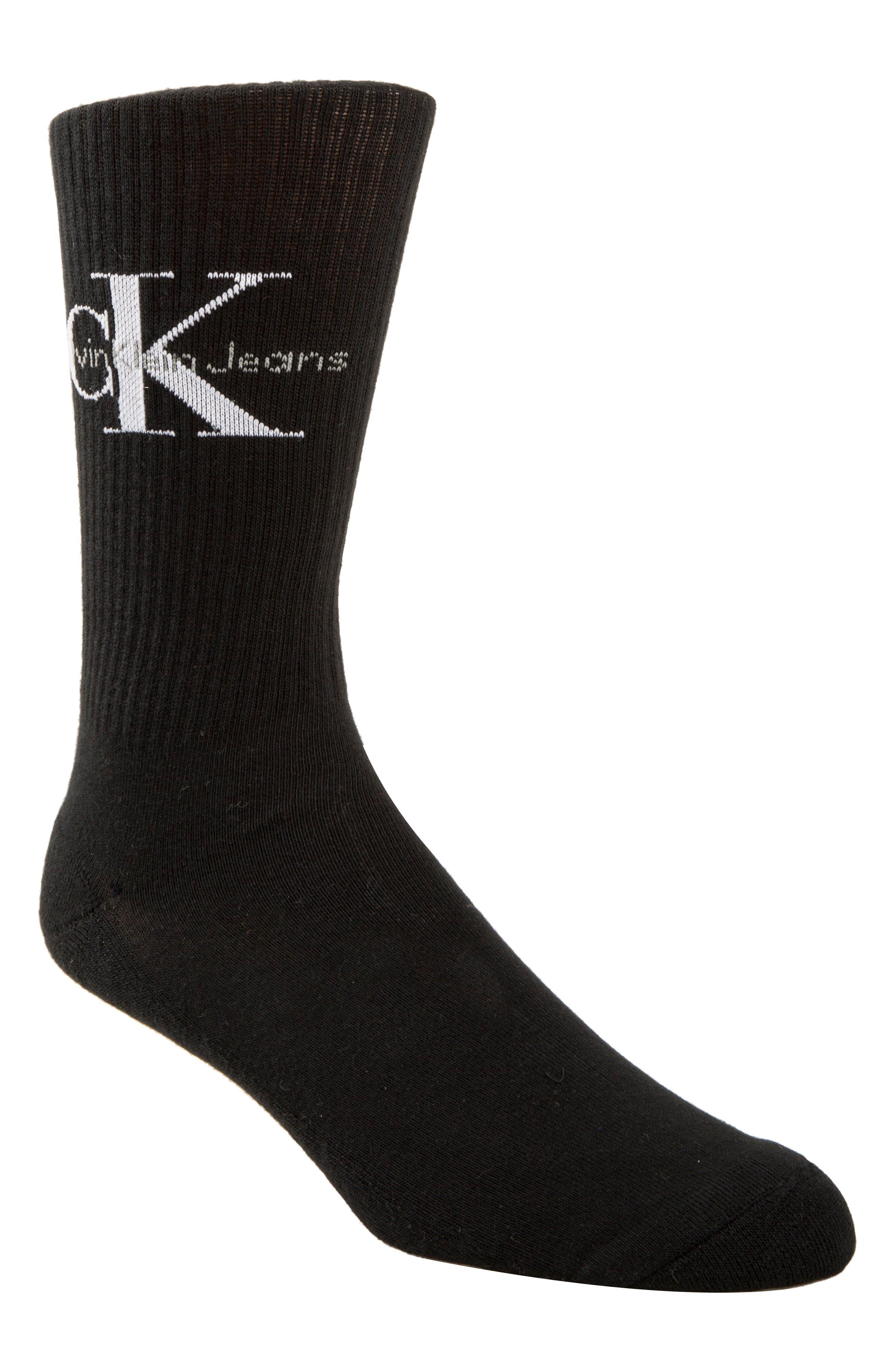 Calvin Klein Logo Socks