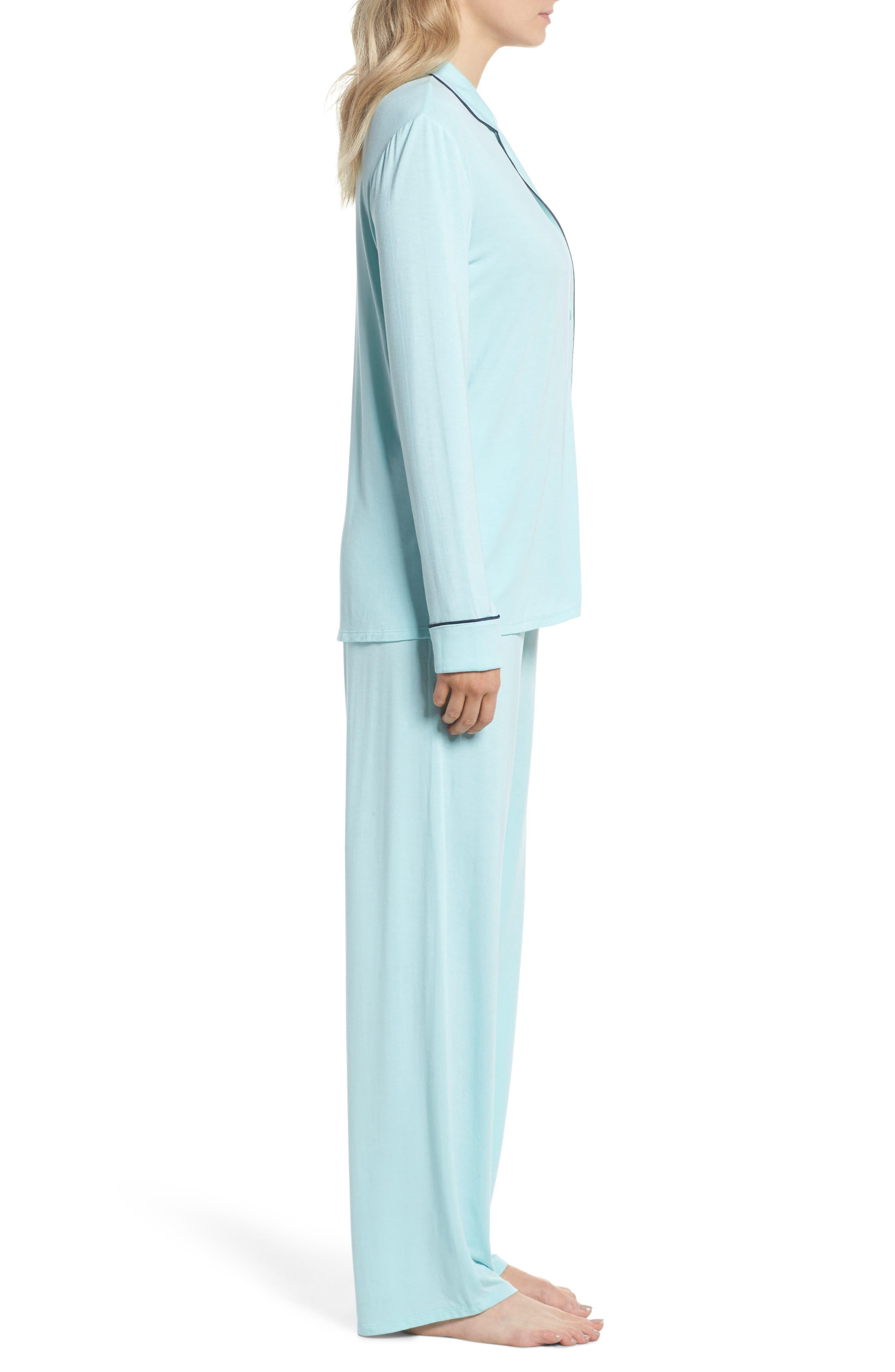Alternate Image 3  - Nordstrom Lingerie Moonlight Pajamas