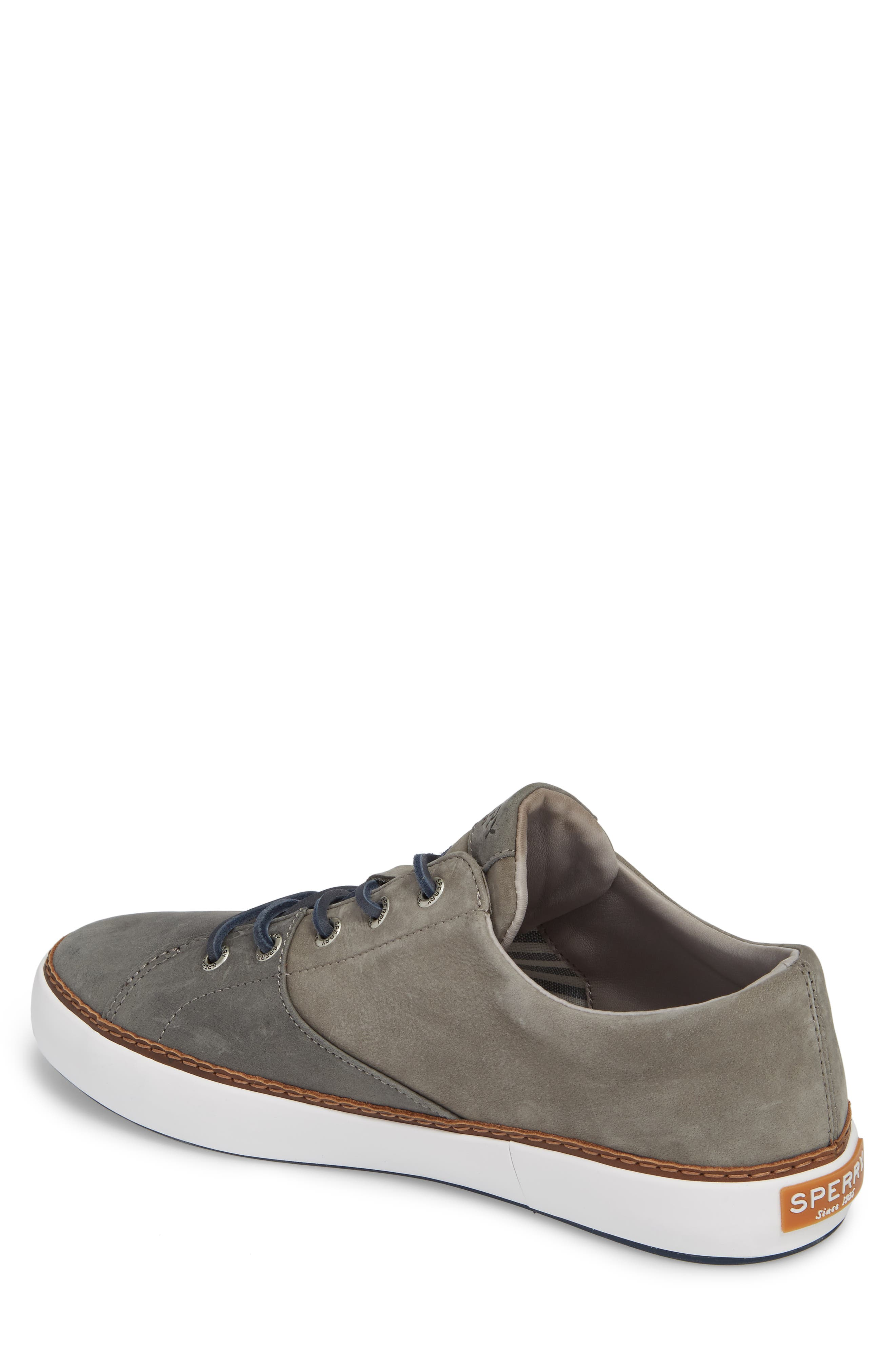 Gold Cup Haven Sneaker,                             Alternate thumbnail 2, color,                             Grey Leather