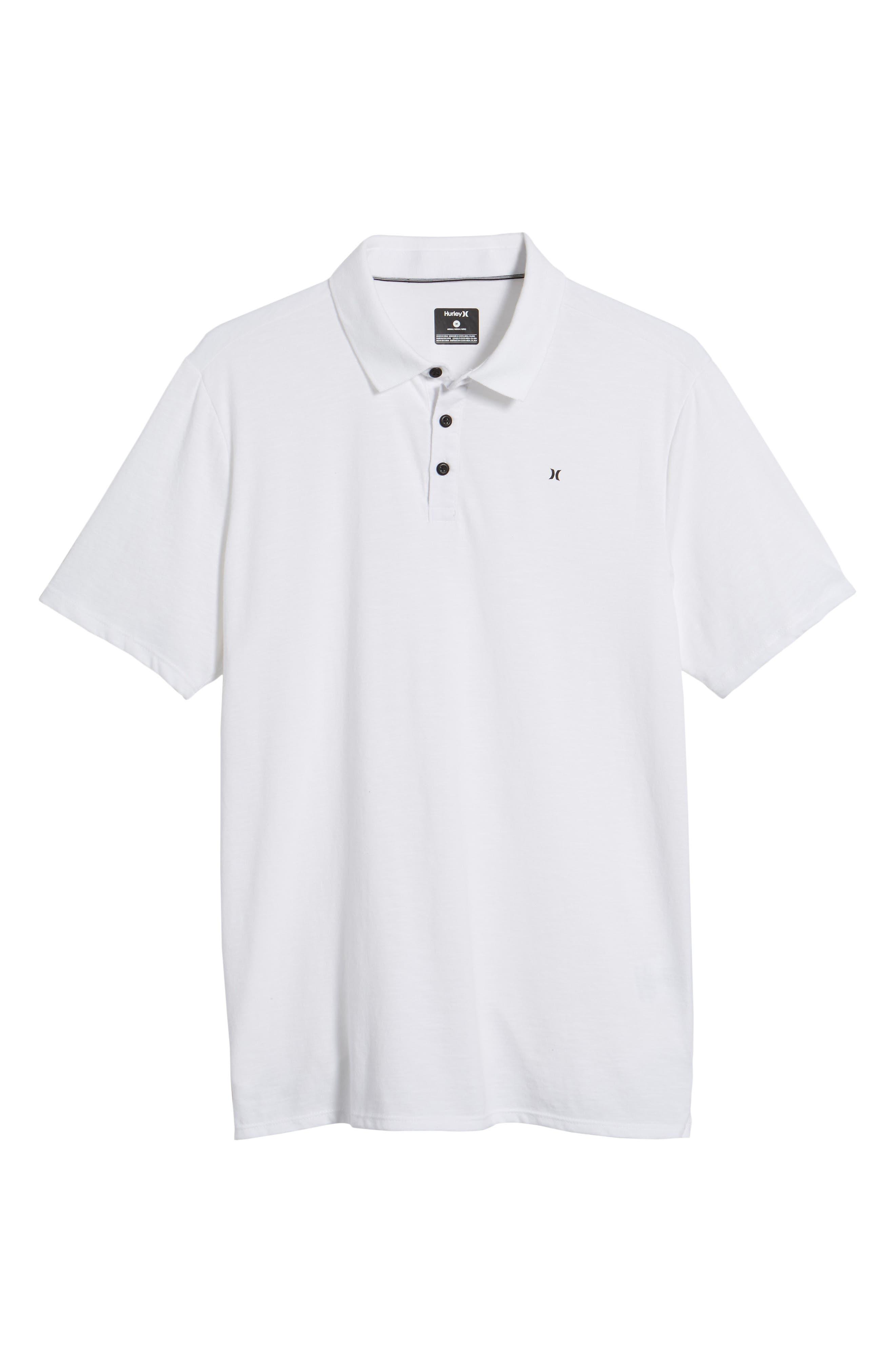 Dry Lagos Polo,                             Alternate thumbnail 6, color,                             White