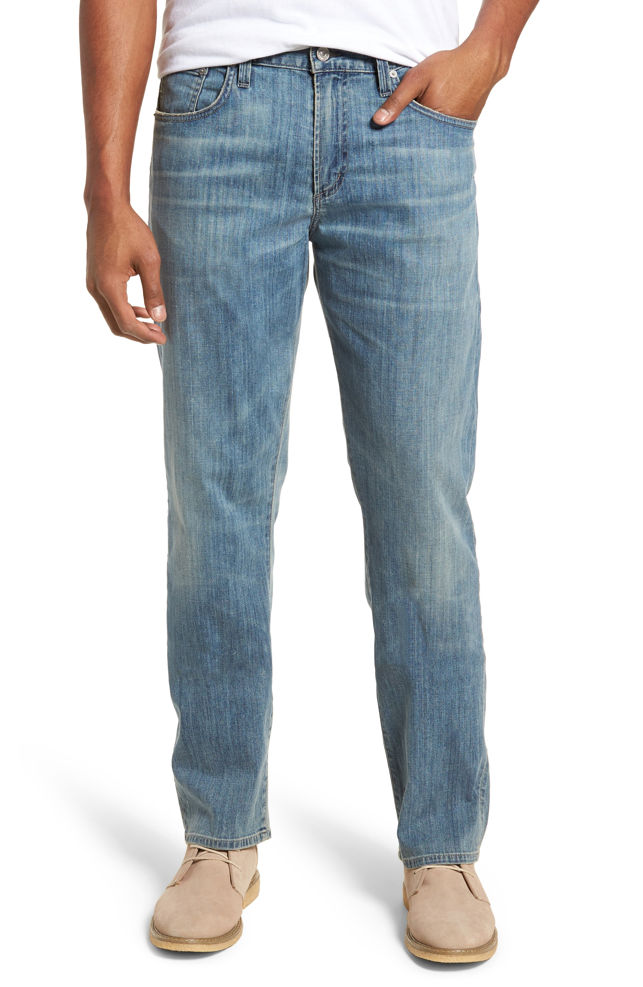 Perfect Relaxed Fit Jeans,                         Main,                         color, Costa