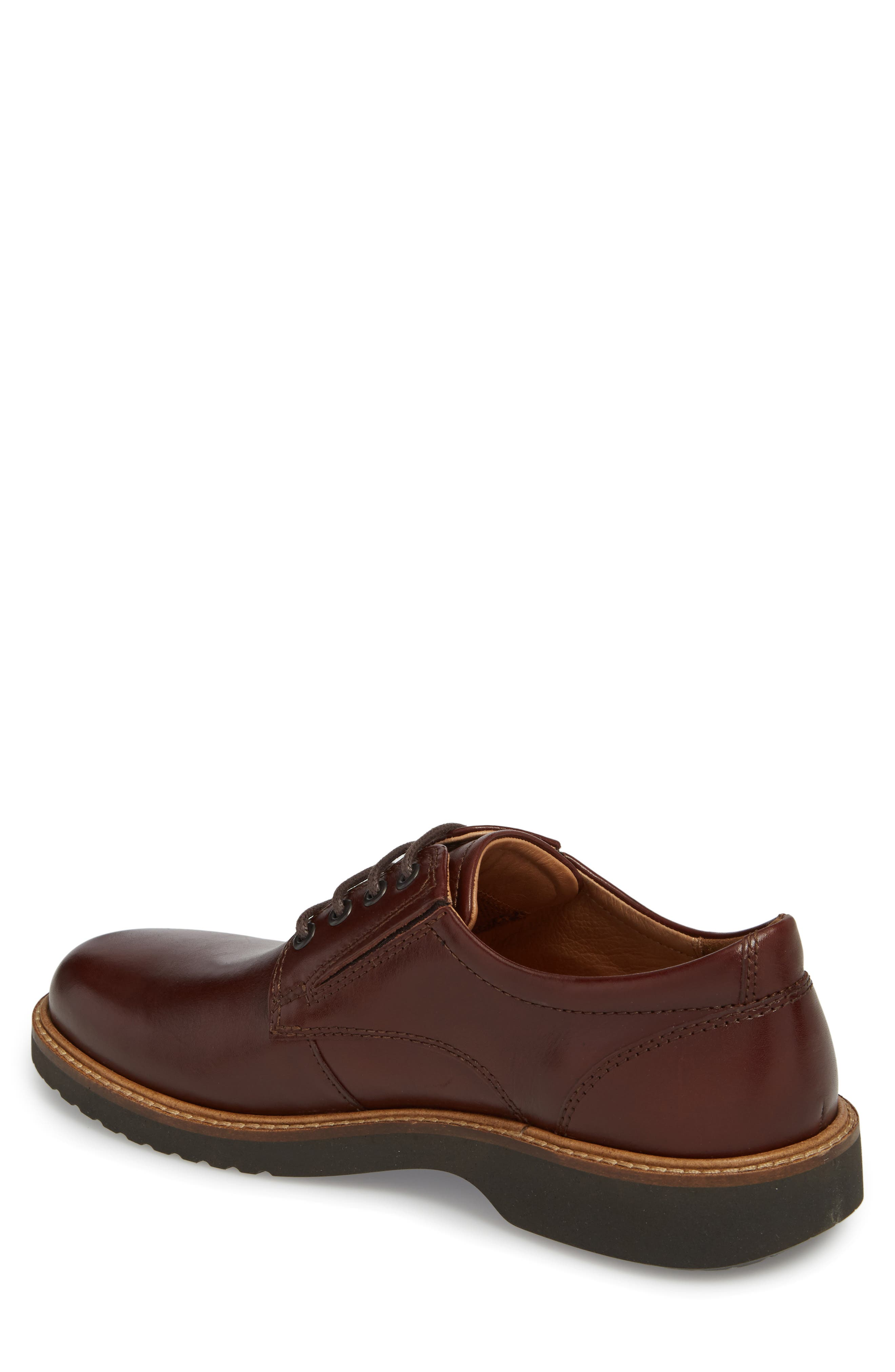 Ian Casual Plain Toe Derby,                             Alternate thumbnail 2, color,                             Mink Leather