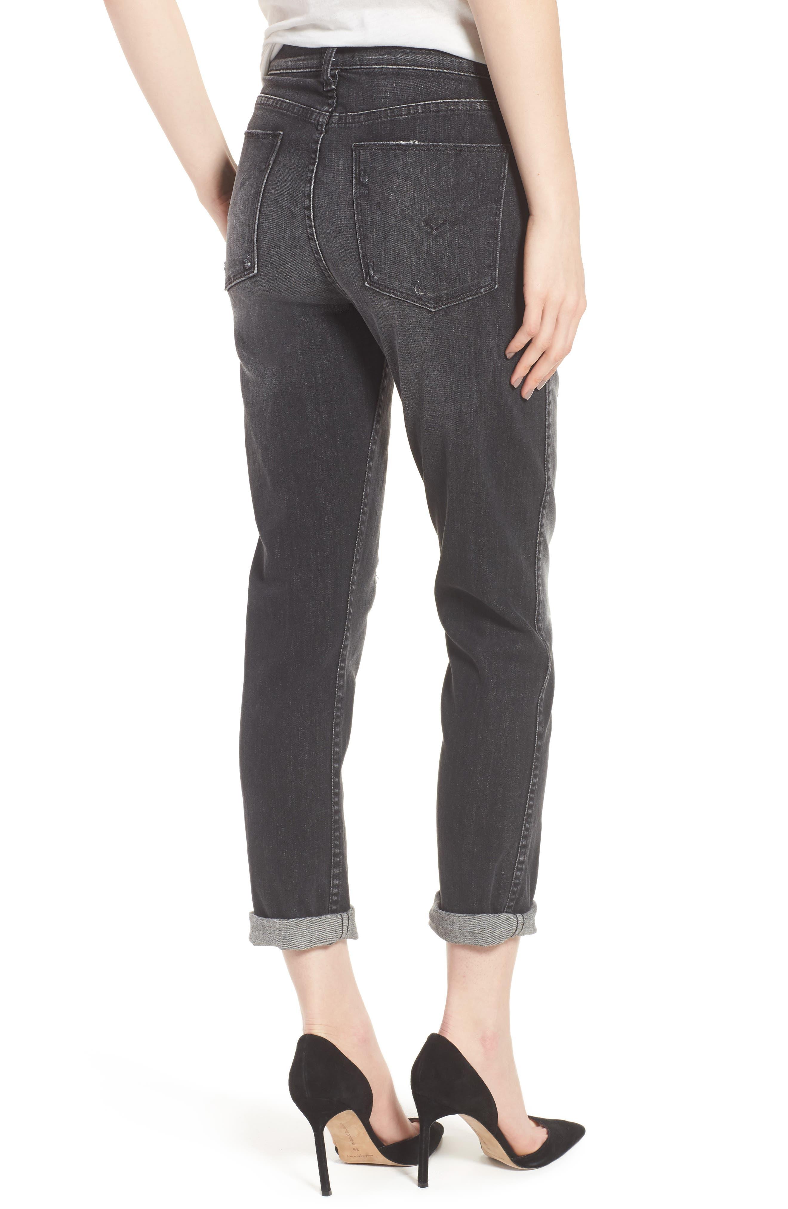 Vintage Holly High Waist Crop Skinny Jeans,                             Alternate thumbnail 2, color,                             Jawbreaker