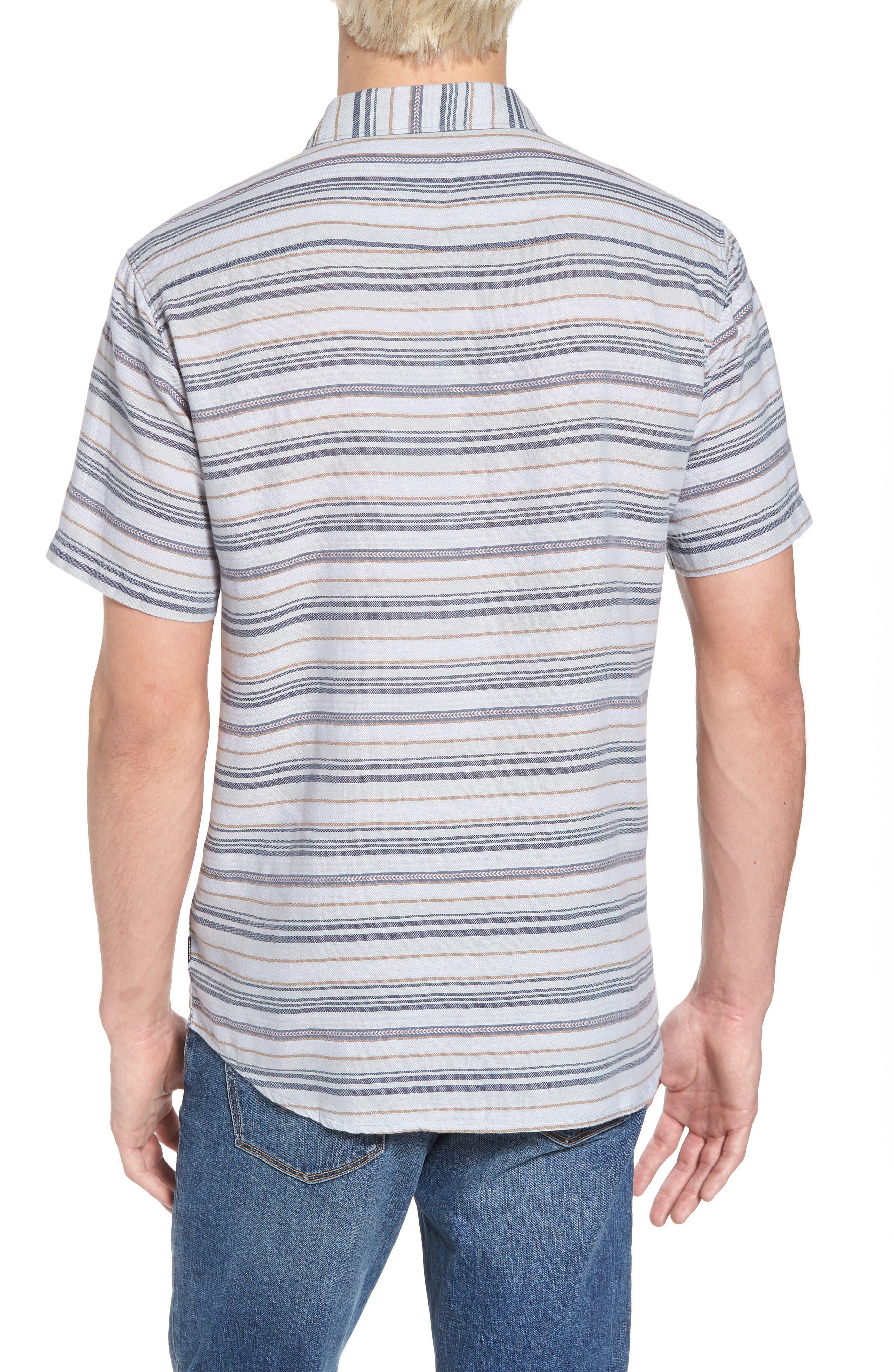 Currington Short Sleeve Shirt,                             Alternate thumbnail 2, color,                             Light Blue