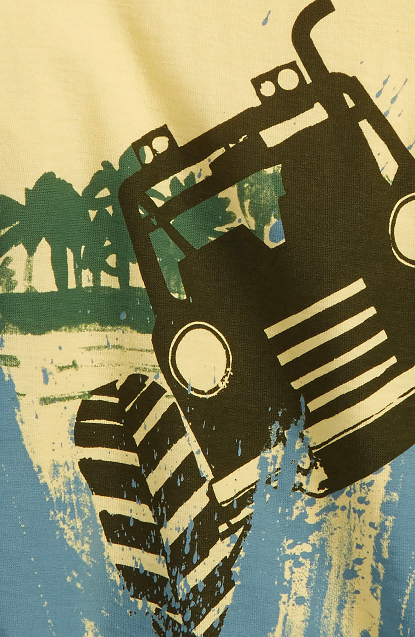 Off Road Graphic T-Shirt,                             Alternate thumbnail 2, color,                             Yuzu