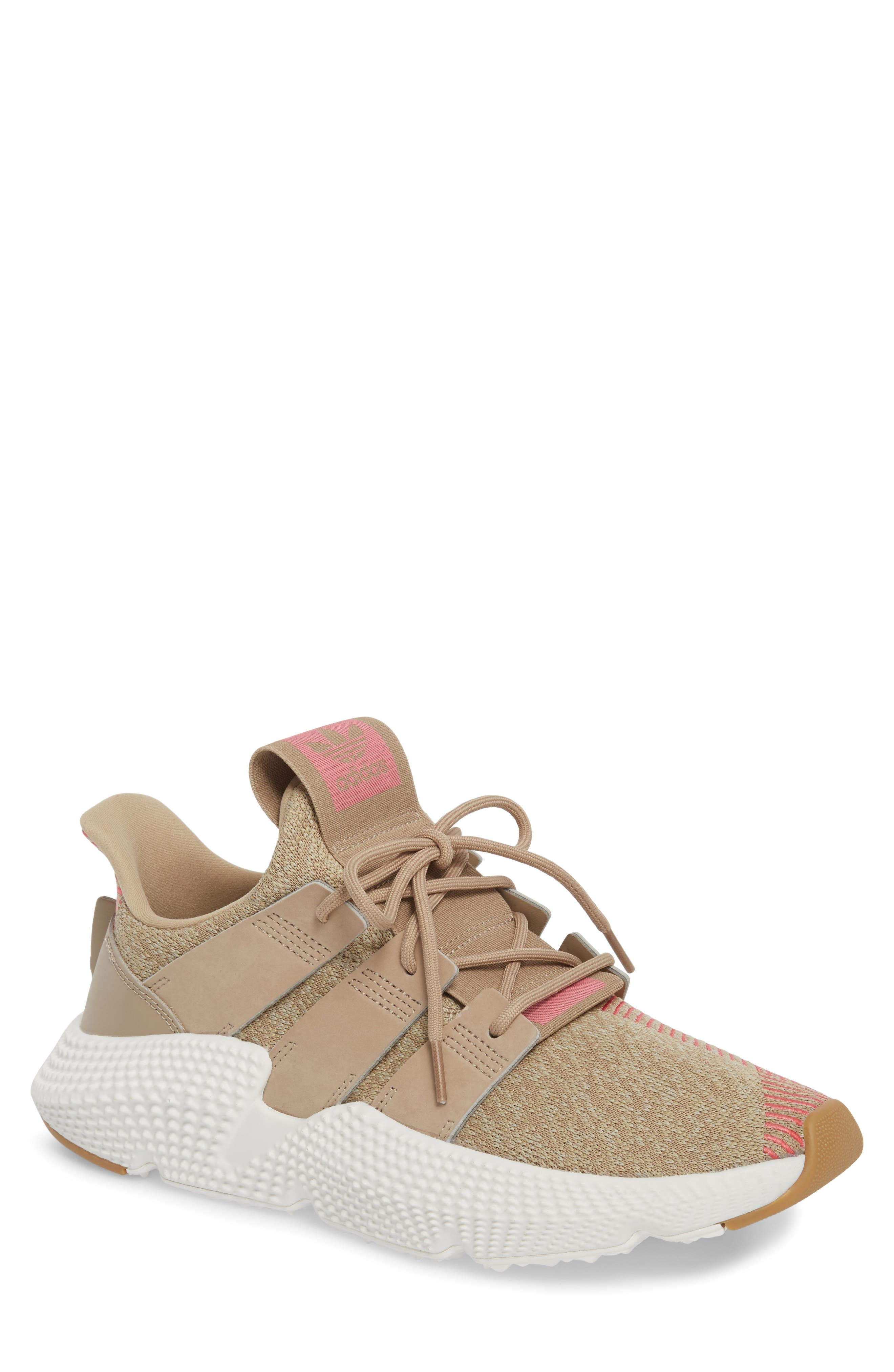 Prophere Sneaker,                         Main,                         color, Trace Khaki/ Chalk Pink