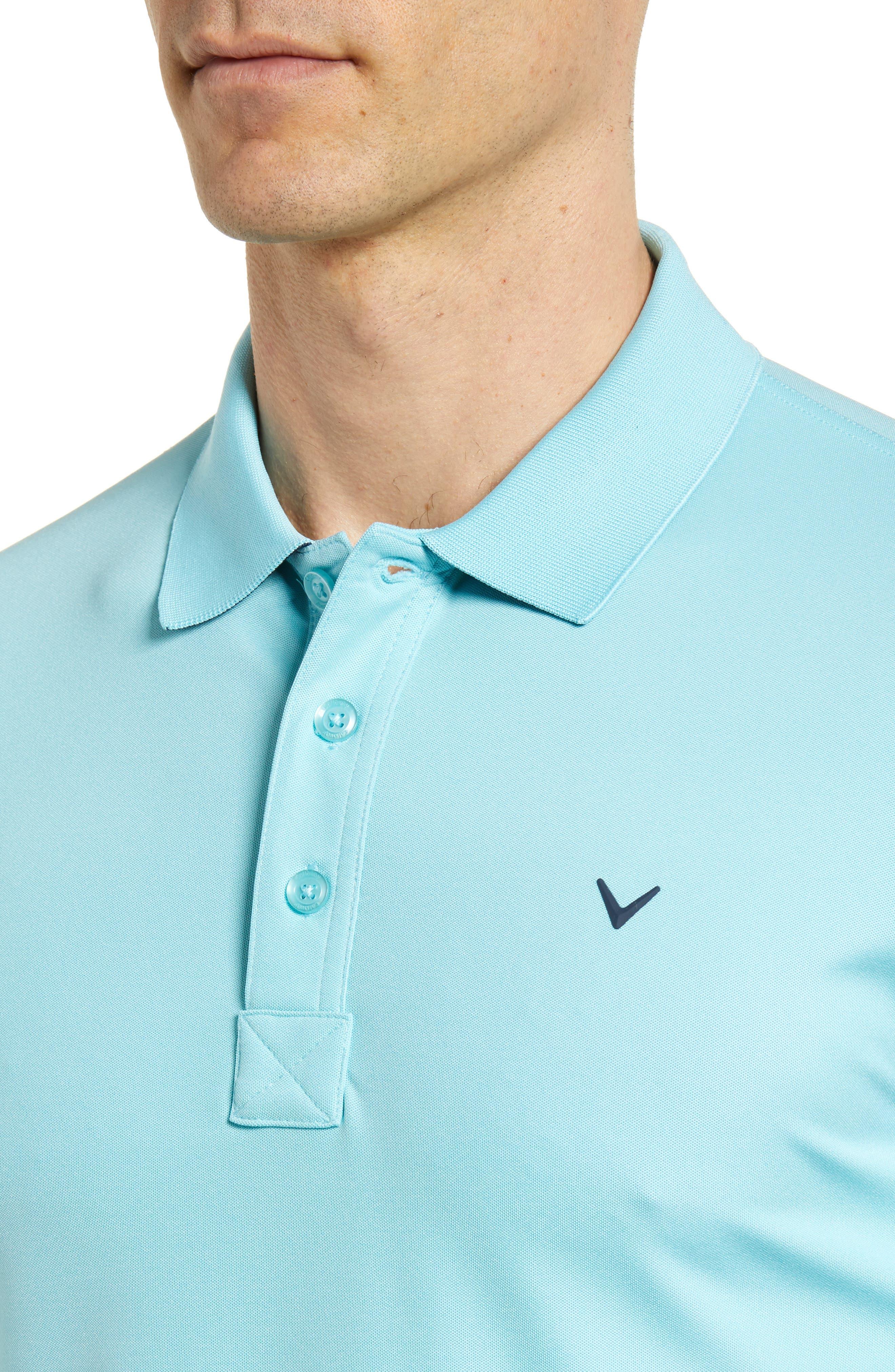 Slim Fit Stretch Polo Shirt,                             Alternate thumbnail 4, color,                             Petit Four
