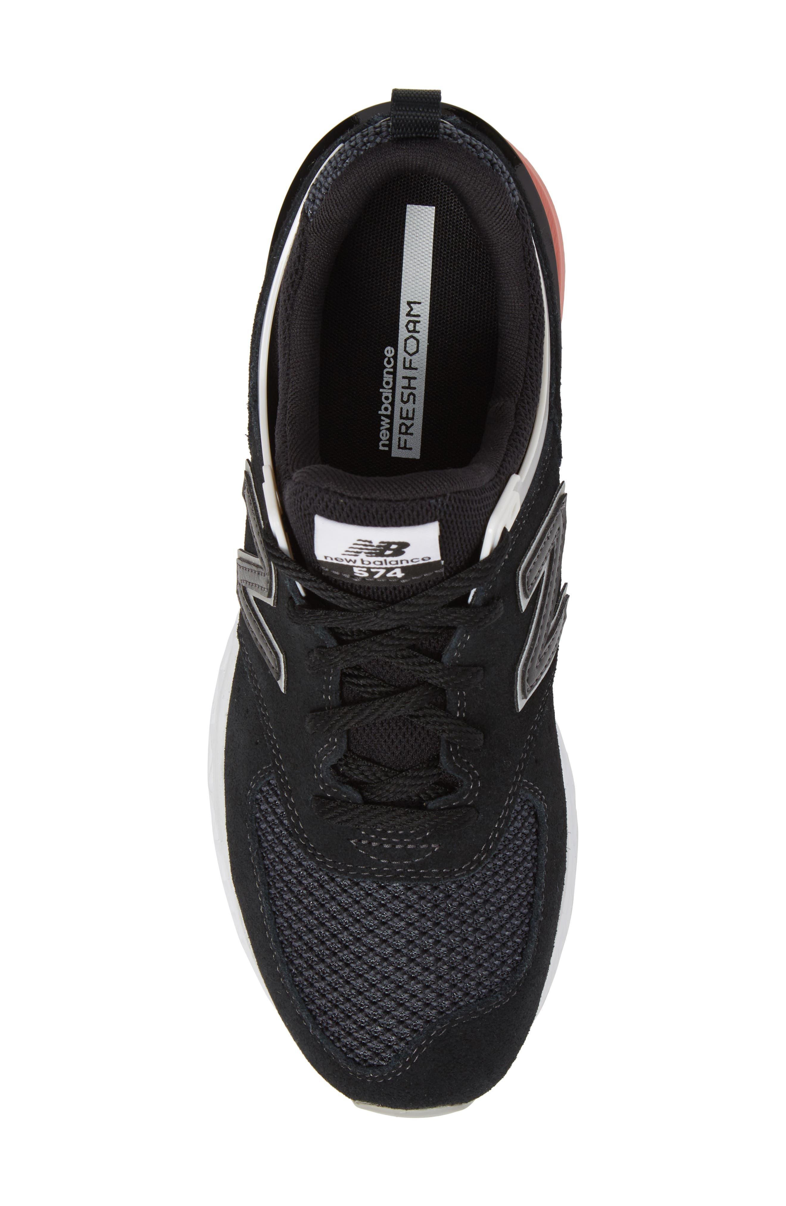 574 T3 Sport Sneaker,                             Alternate thumbnail 5, color,                             Black