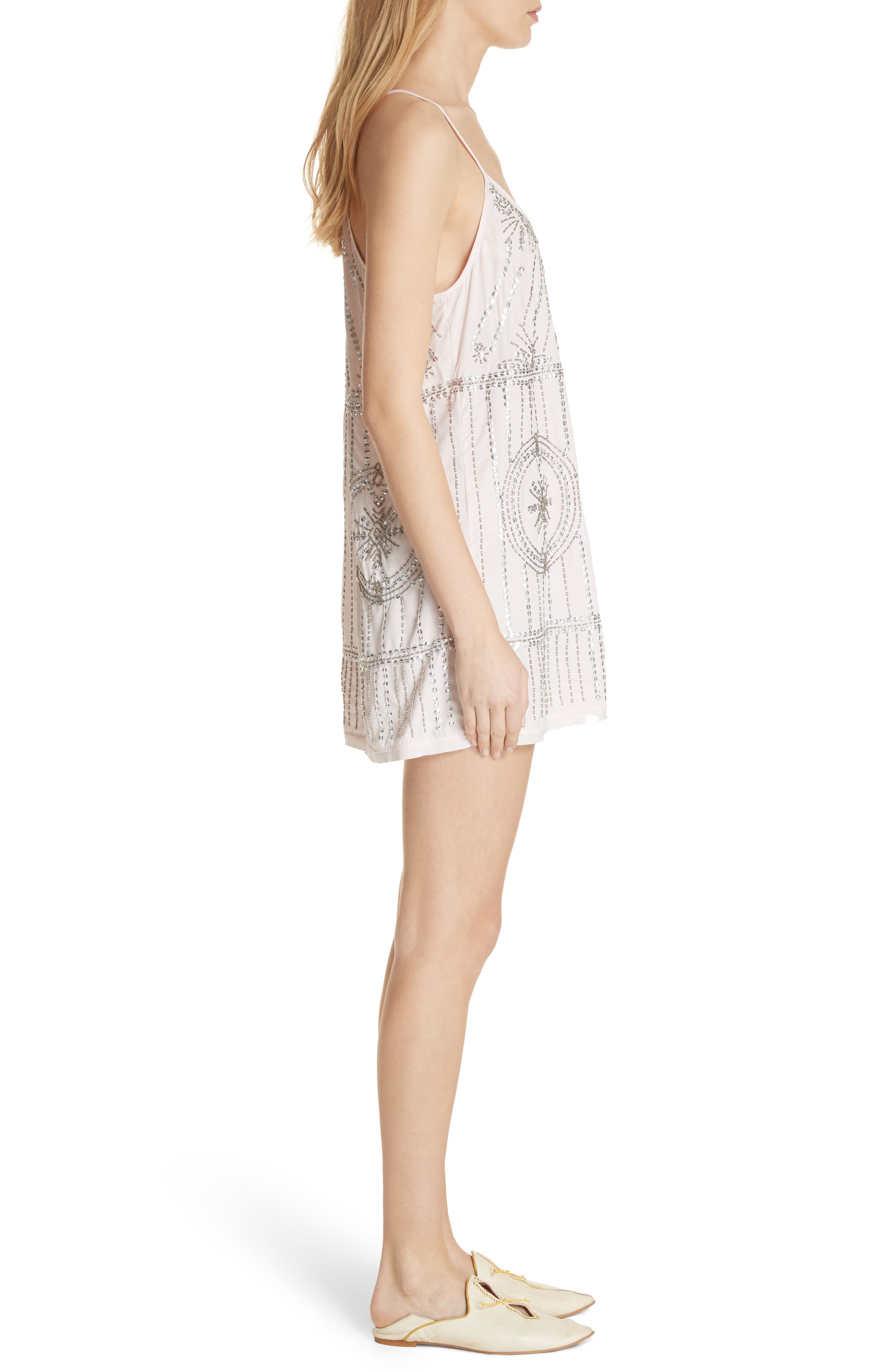 Alternate Image 3  - Free People Sedona Embellished Slipdress