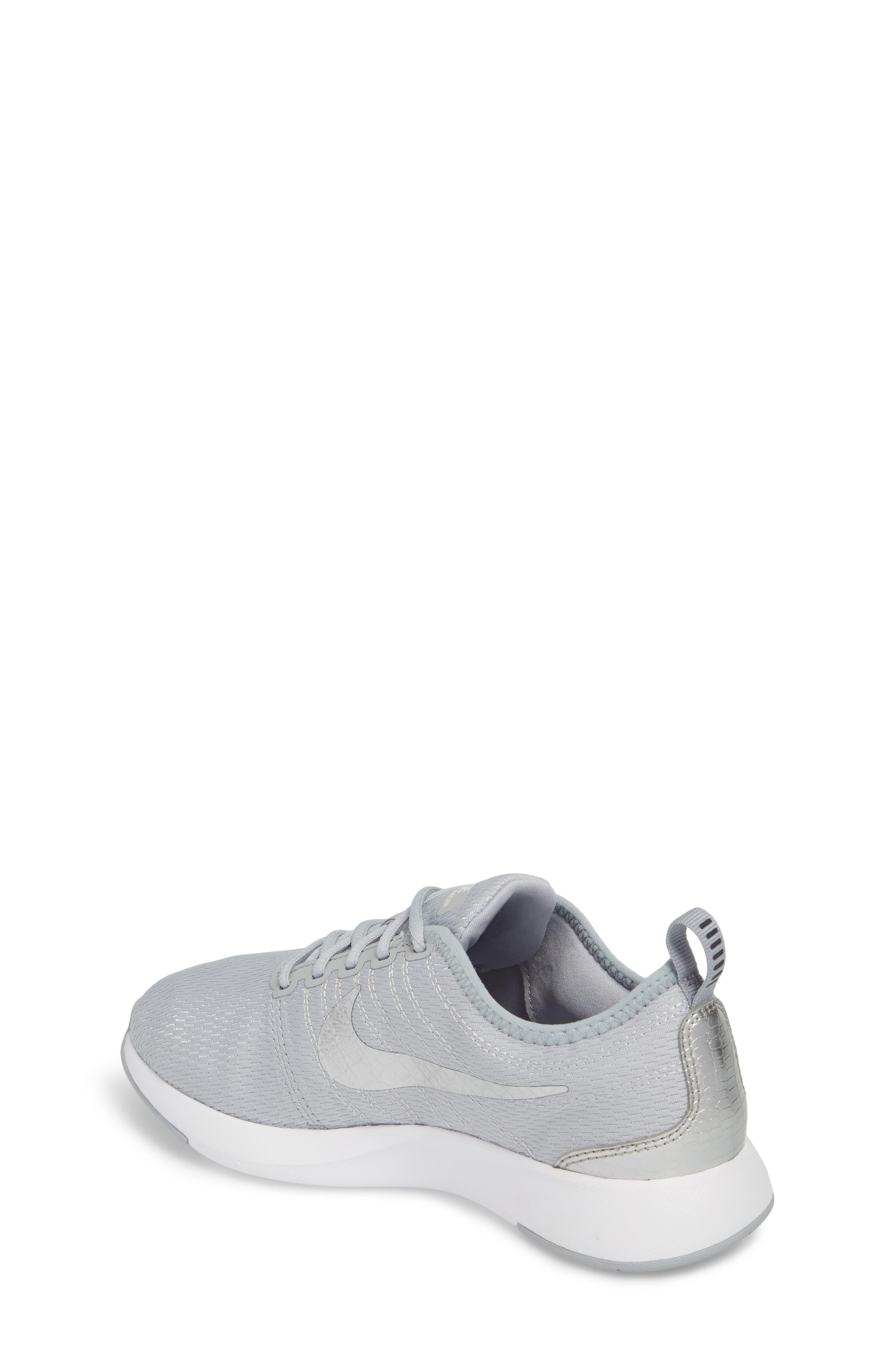 Dualtone Racer GS Sneaker,                             Alternate thumbnail 2, color,                             Wolf Grey/ Metallic Silver