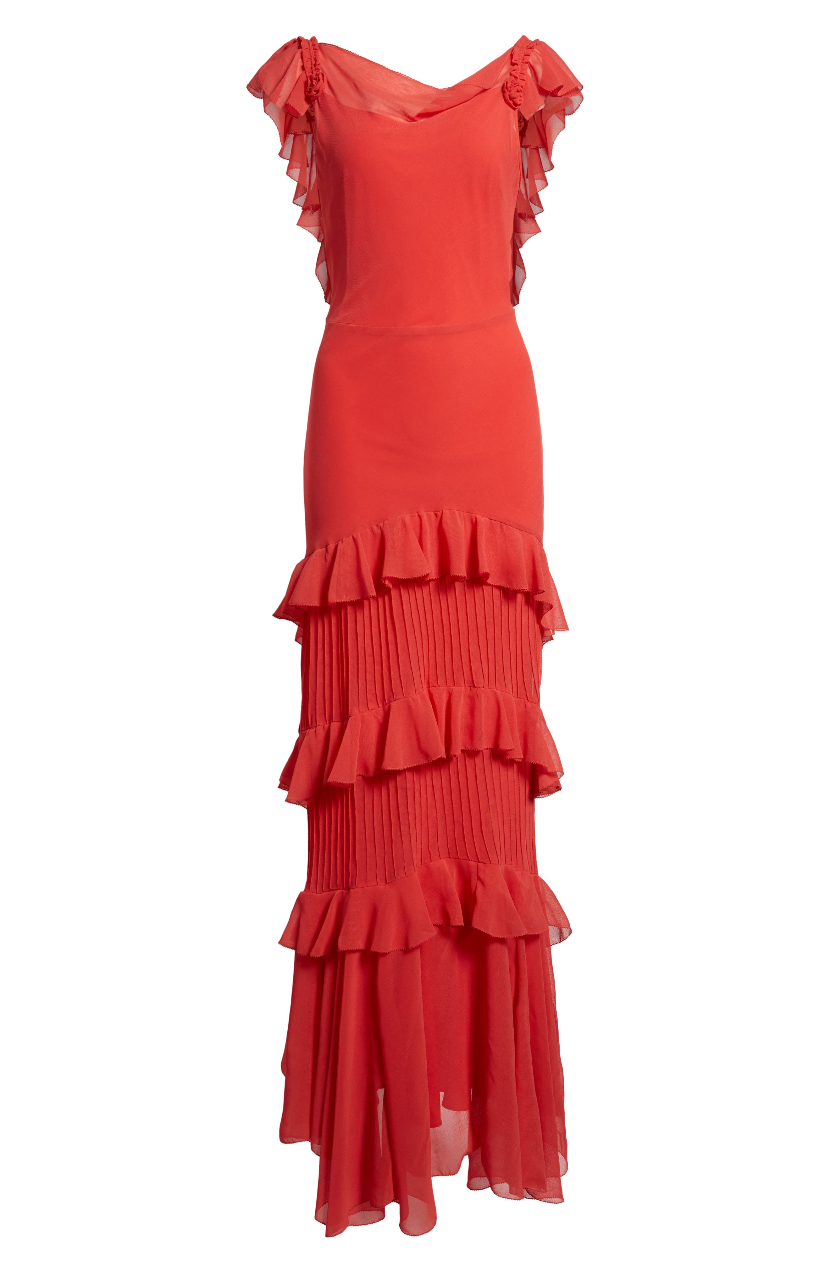 Alternate Image 7  - Topshop Ruffle Maxi Dress