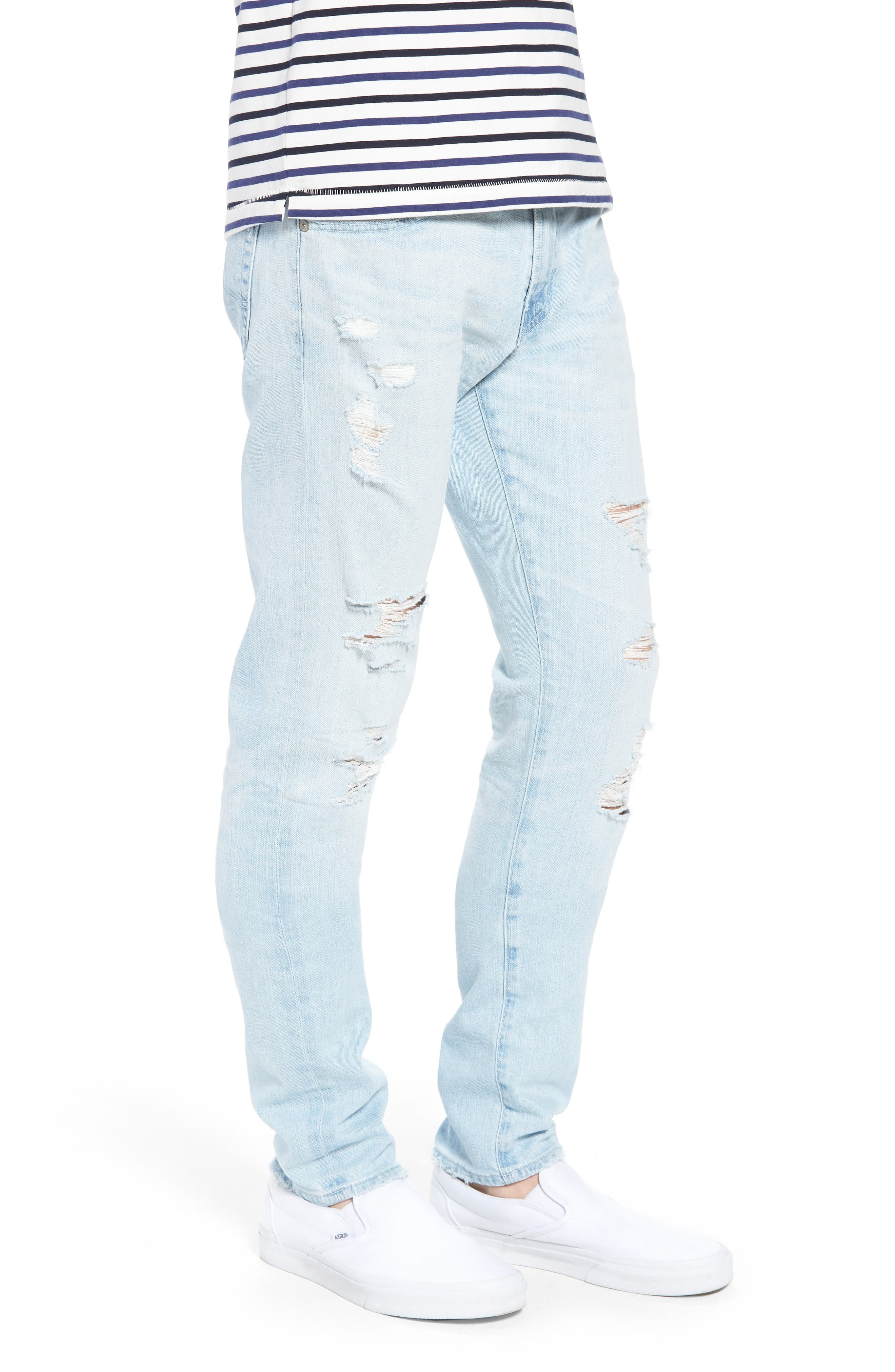 Dylan Skinny Fit Jeans,                             Alternate thumbnail 3, color,                             27 Years Surfrider