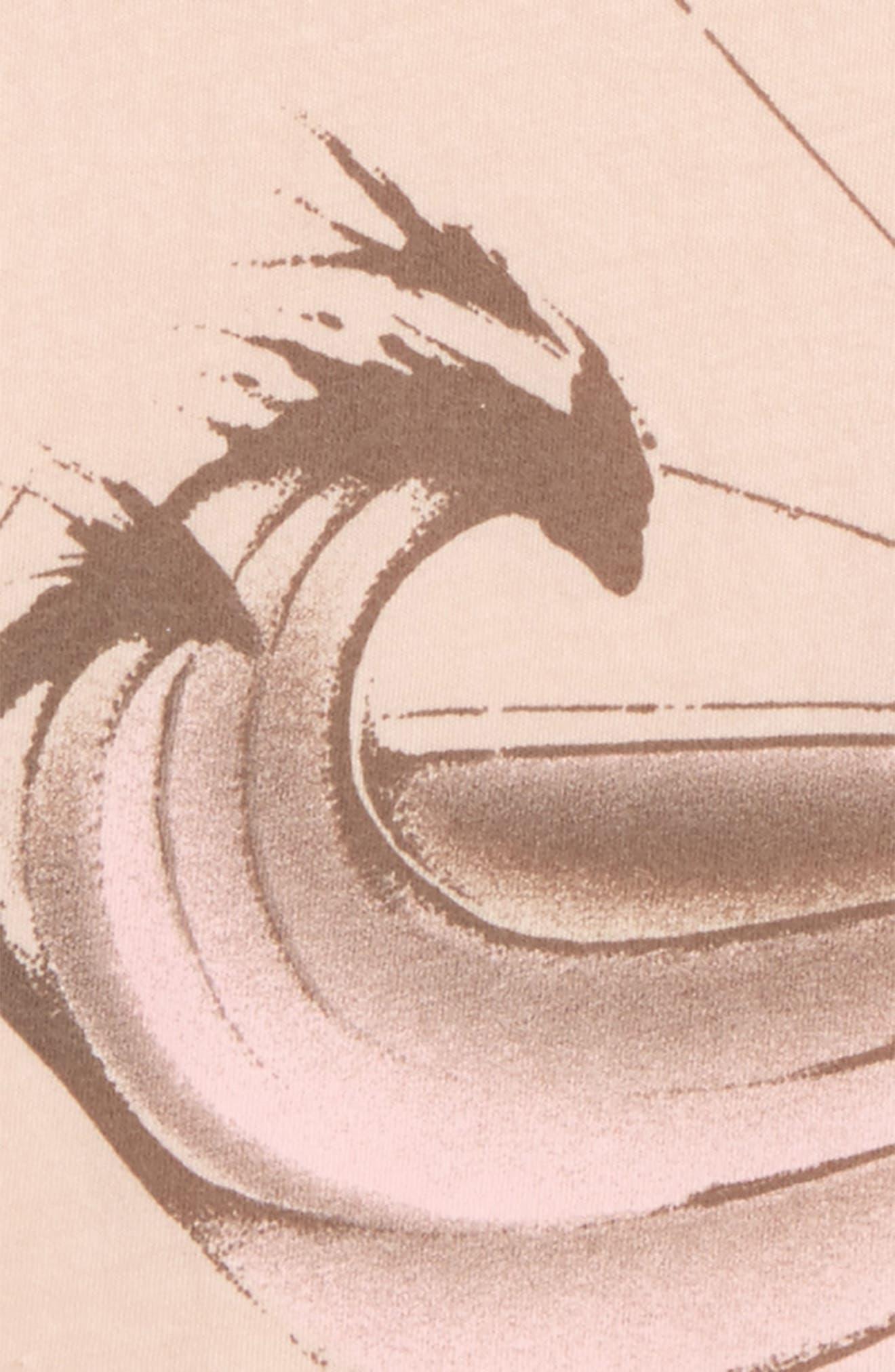 Diamond Beach Graphic Tank,                             Alternate thumbnail 2, color,                             Cameo Rose