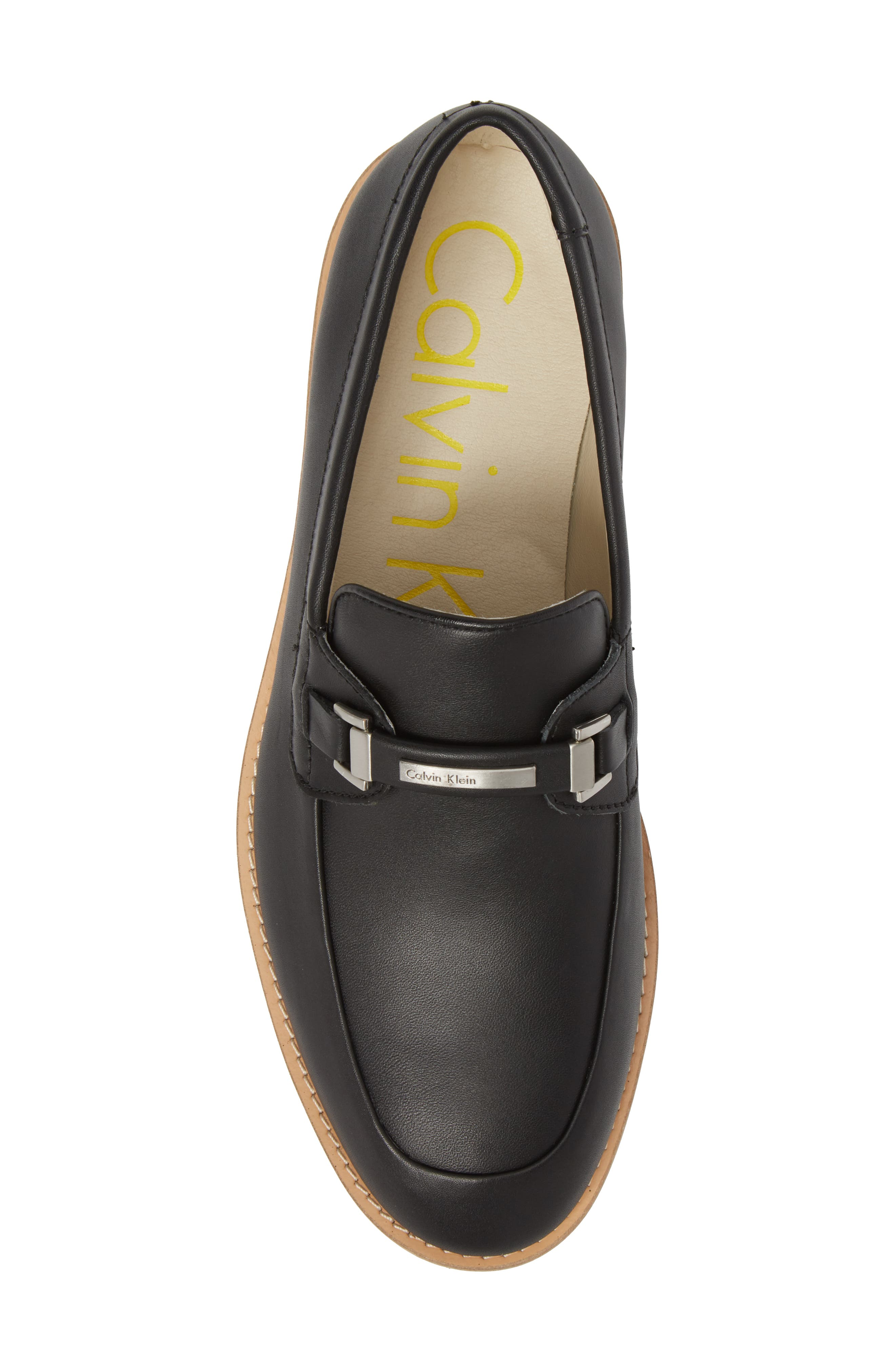 Adler Bit Loafer,                             Alternate thumbnail 5, color,                             Black Leather