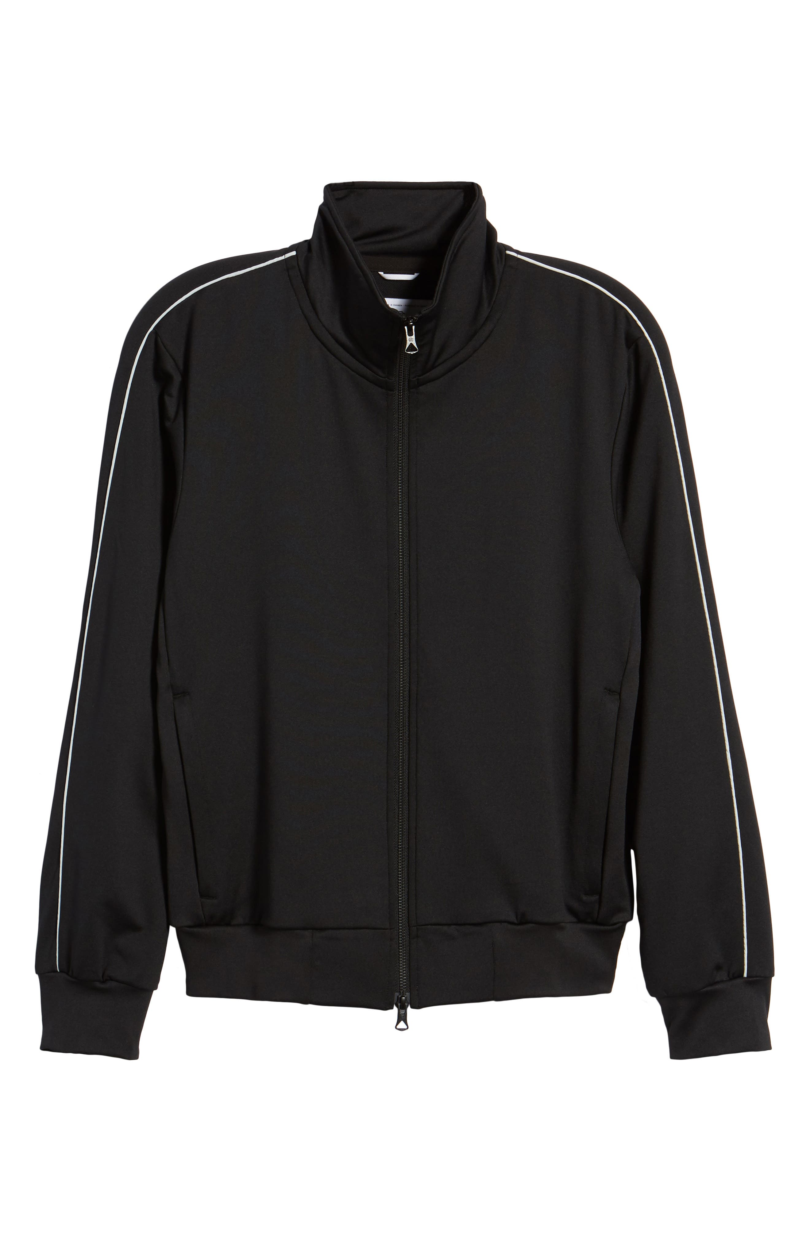 CoolMax<sup>®</sup> Track Jacket,                             Alternate thumbnail 6, color,                             Black