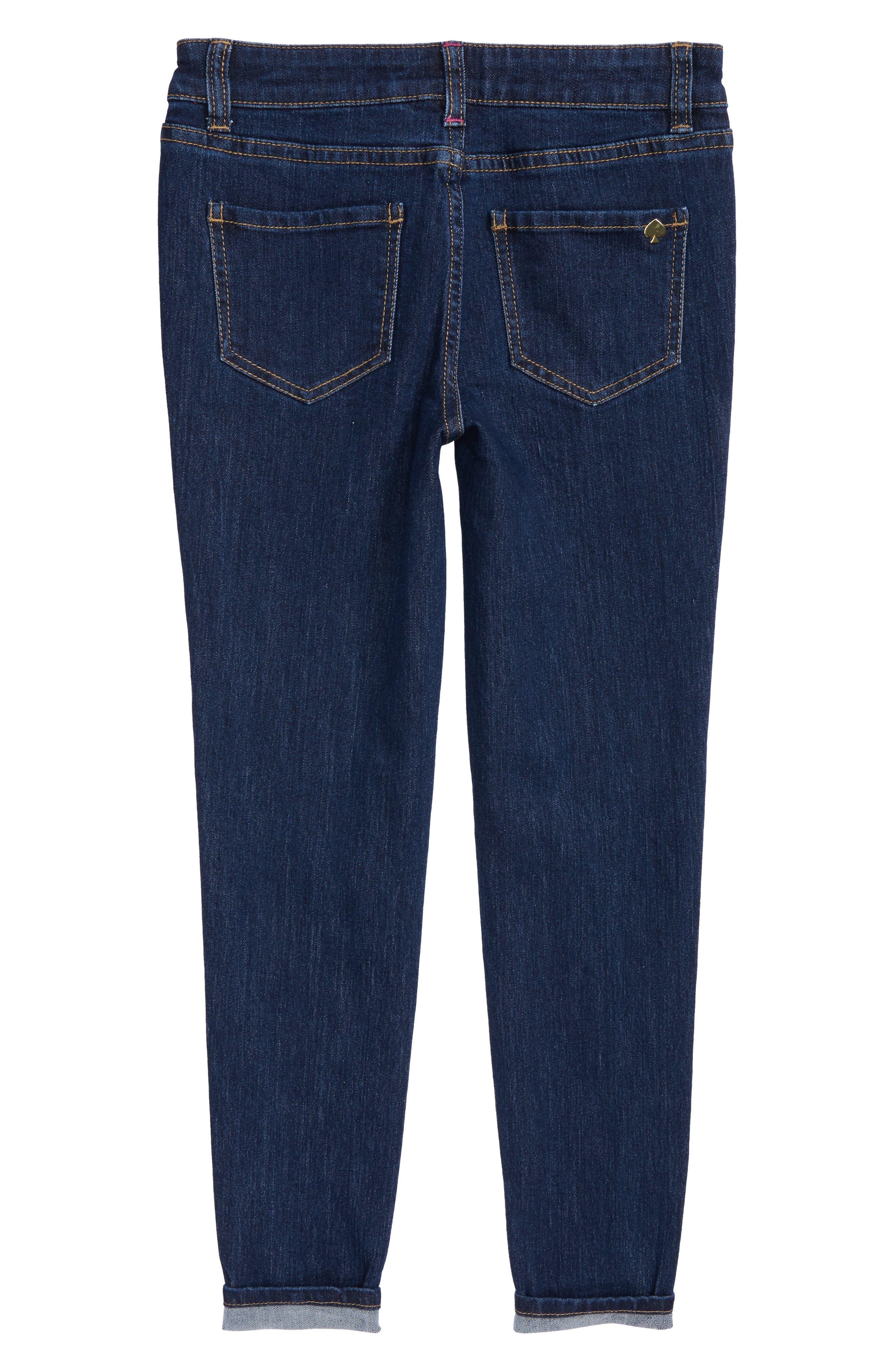 skinny jeans,                             Alternate thumbnail 2, color,                             Denim Indigo