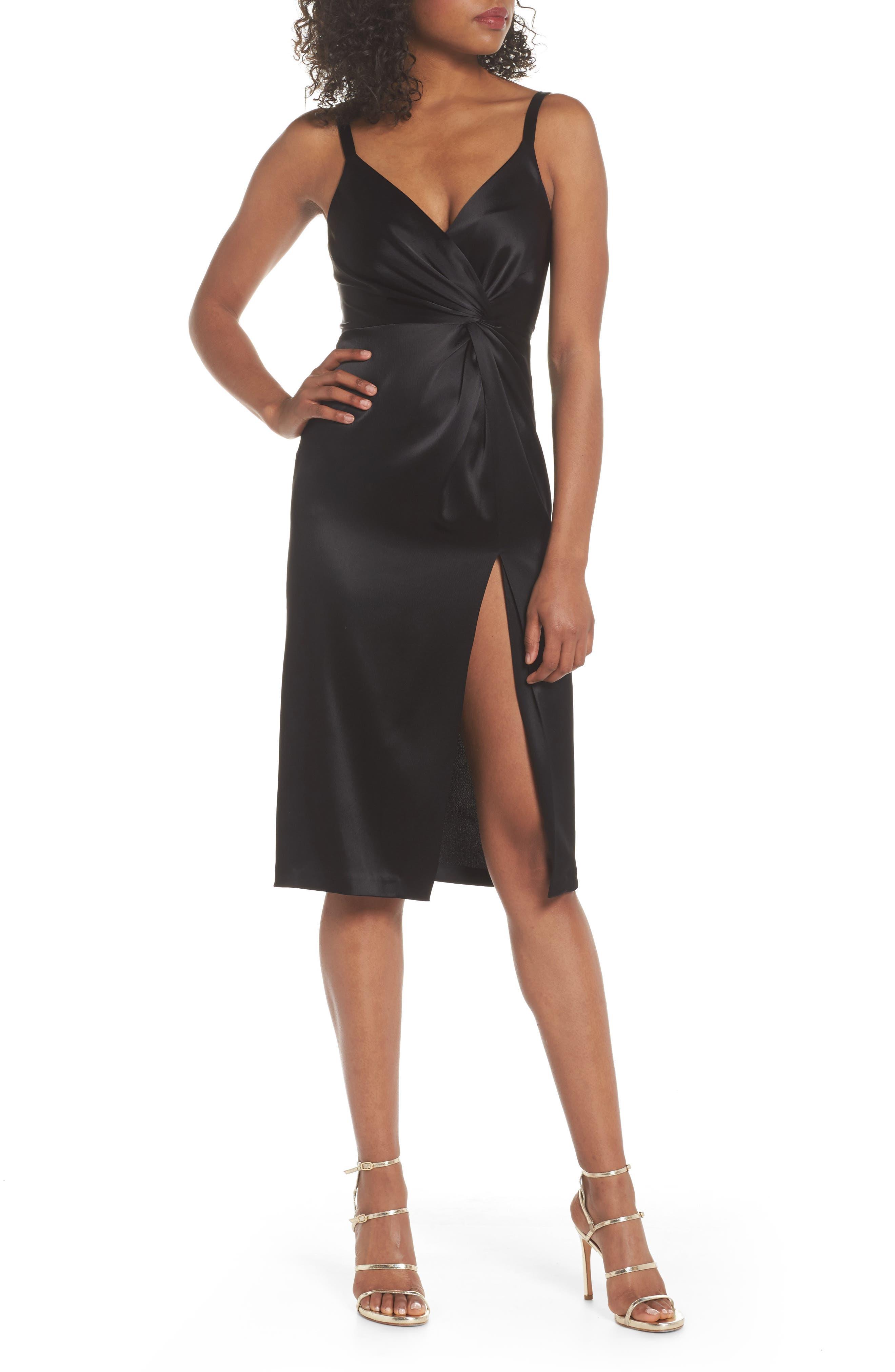 Jill Jill Stuart Satin Sheath Dress