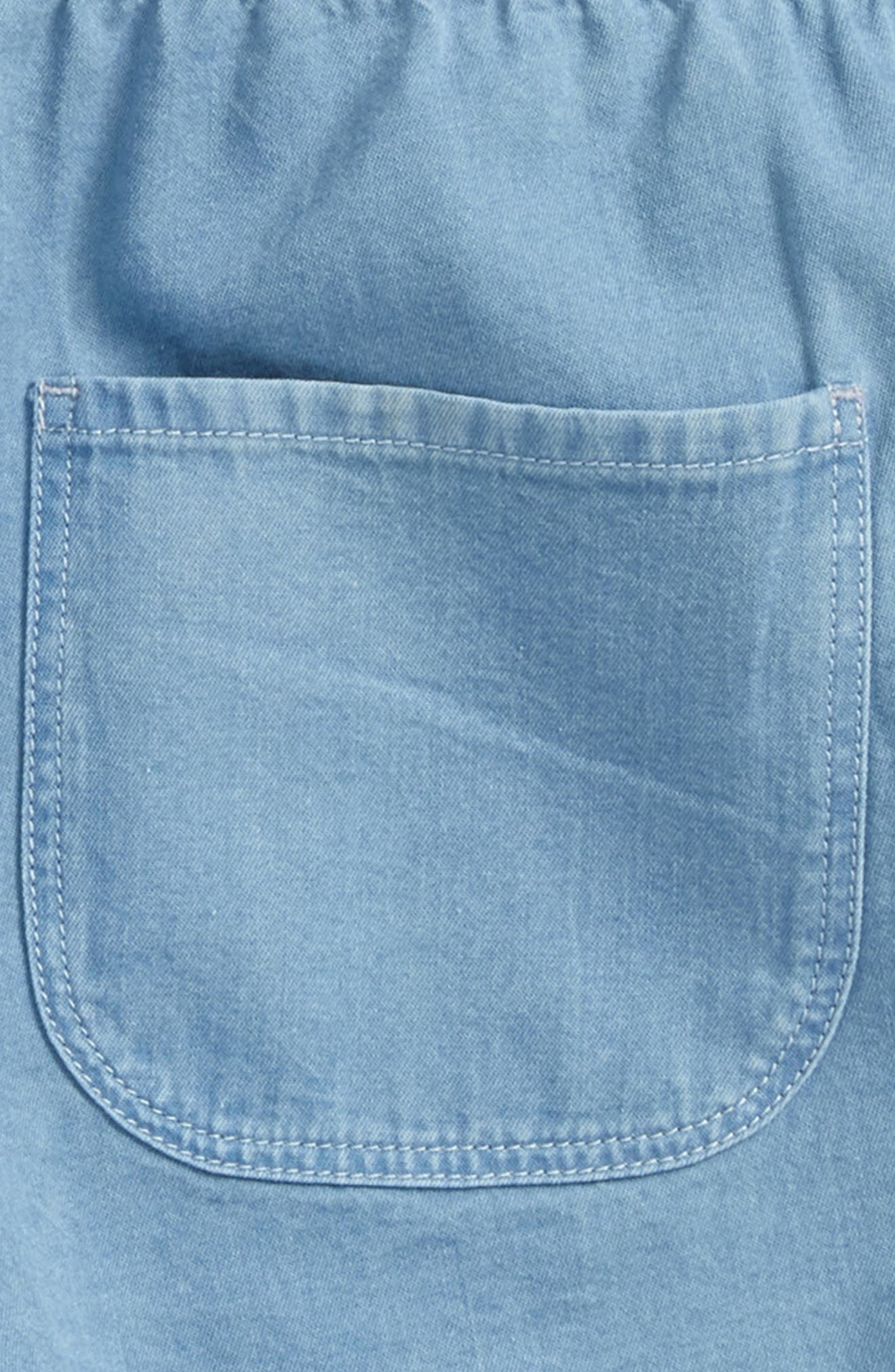 Easy Shorts,                             Alternate thumbnail 3, color,                             Blue Sky Wash
