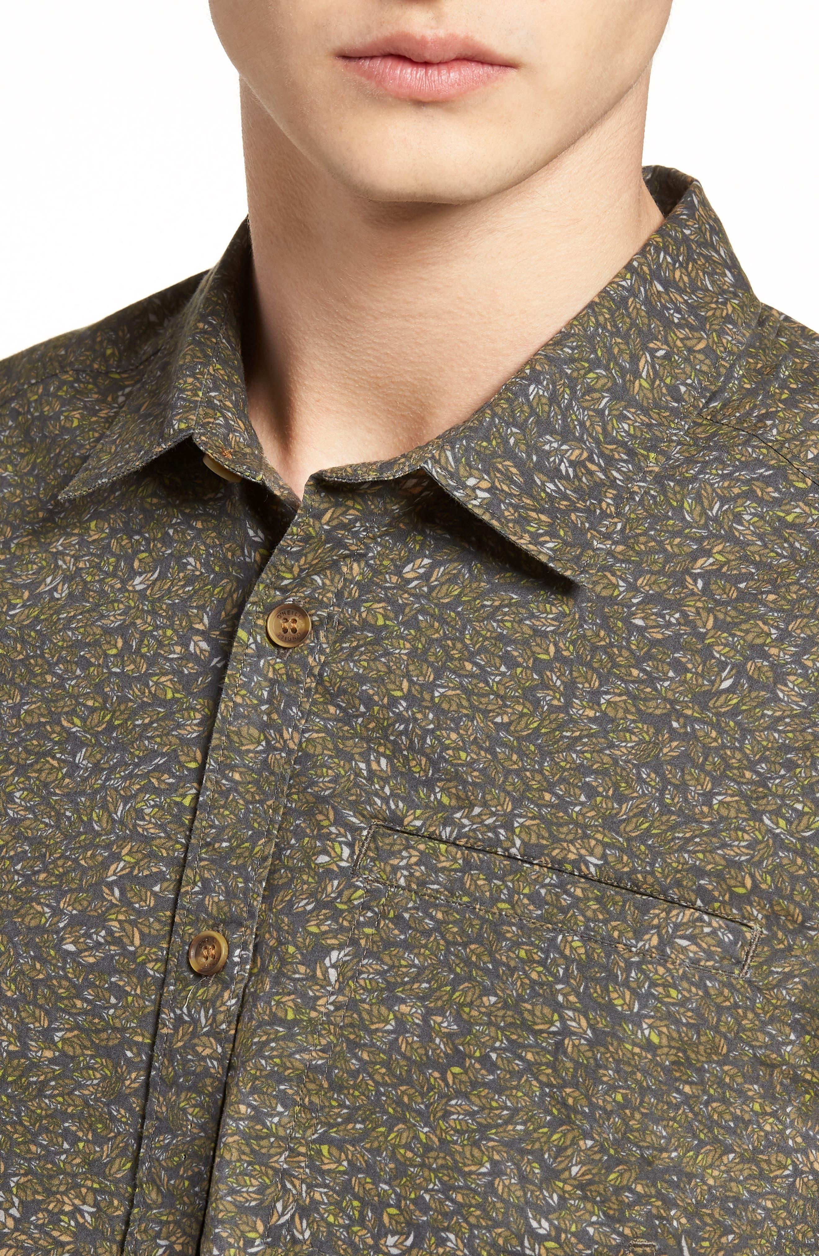 Livingston Short Sleeve Shirt,                             Alternate thumbnail 2, color,                             Asphalt