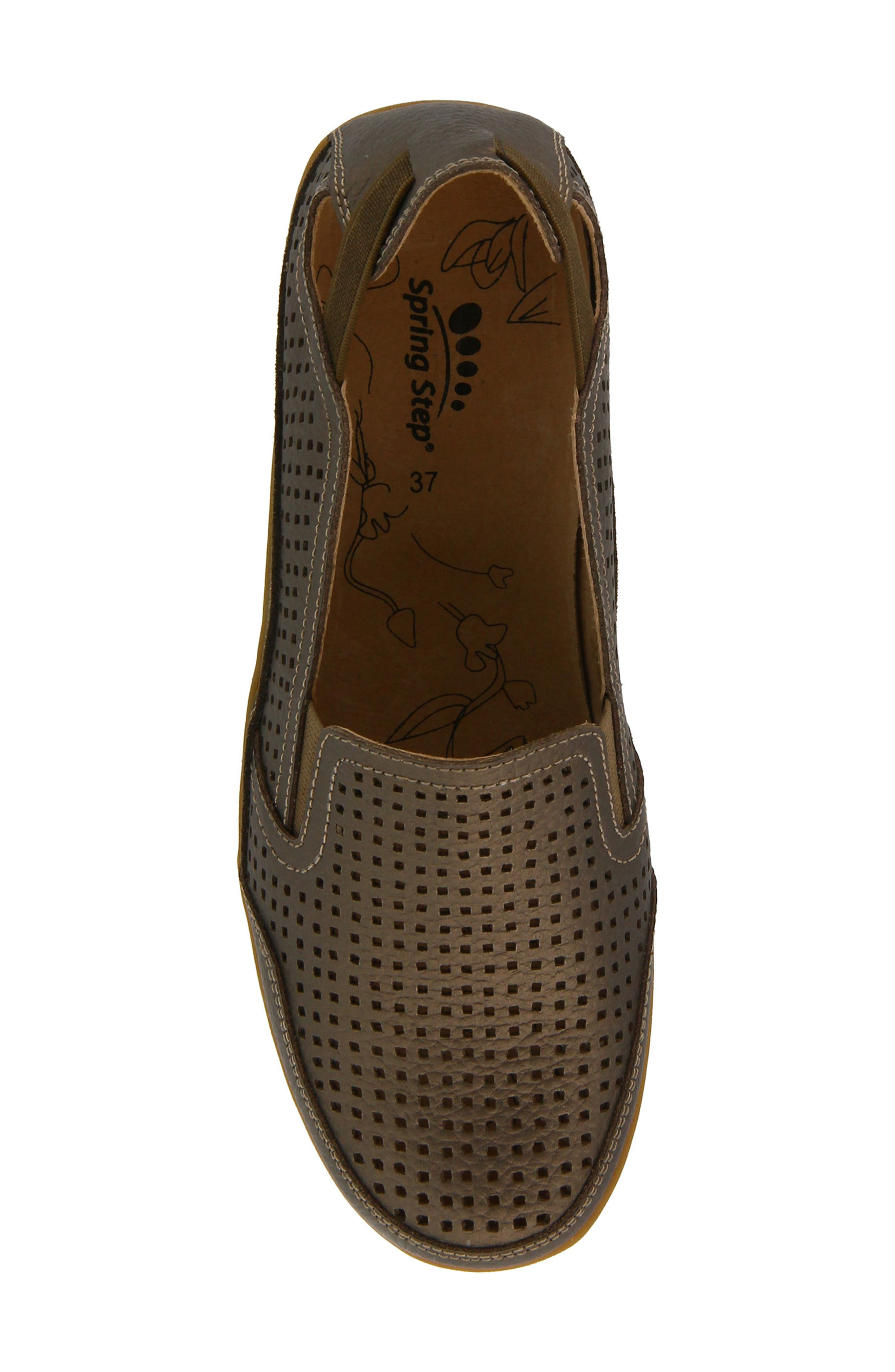 Juhi Loafer,                             Alternate thumbnail 4, color,                             Bronze Leather