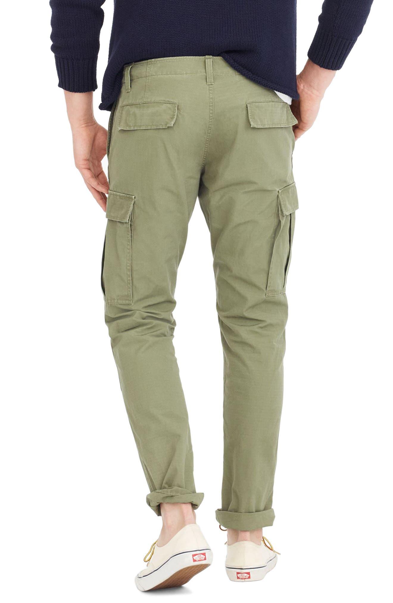 Alternate Image 2  - J.Crew 770 Straight Fit Ripstop Cargo Pants
