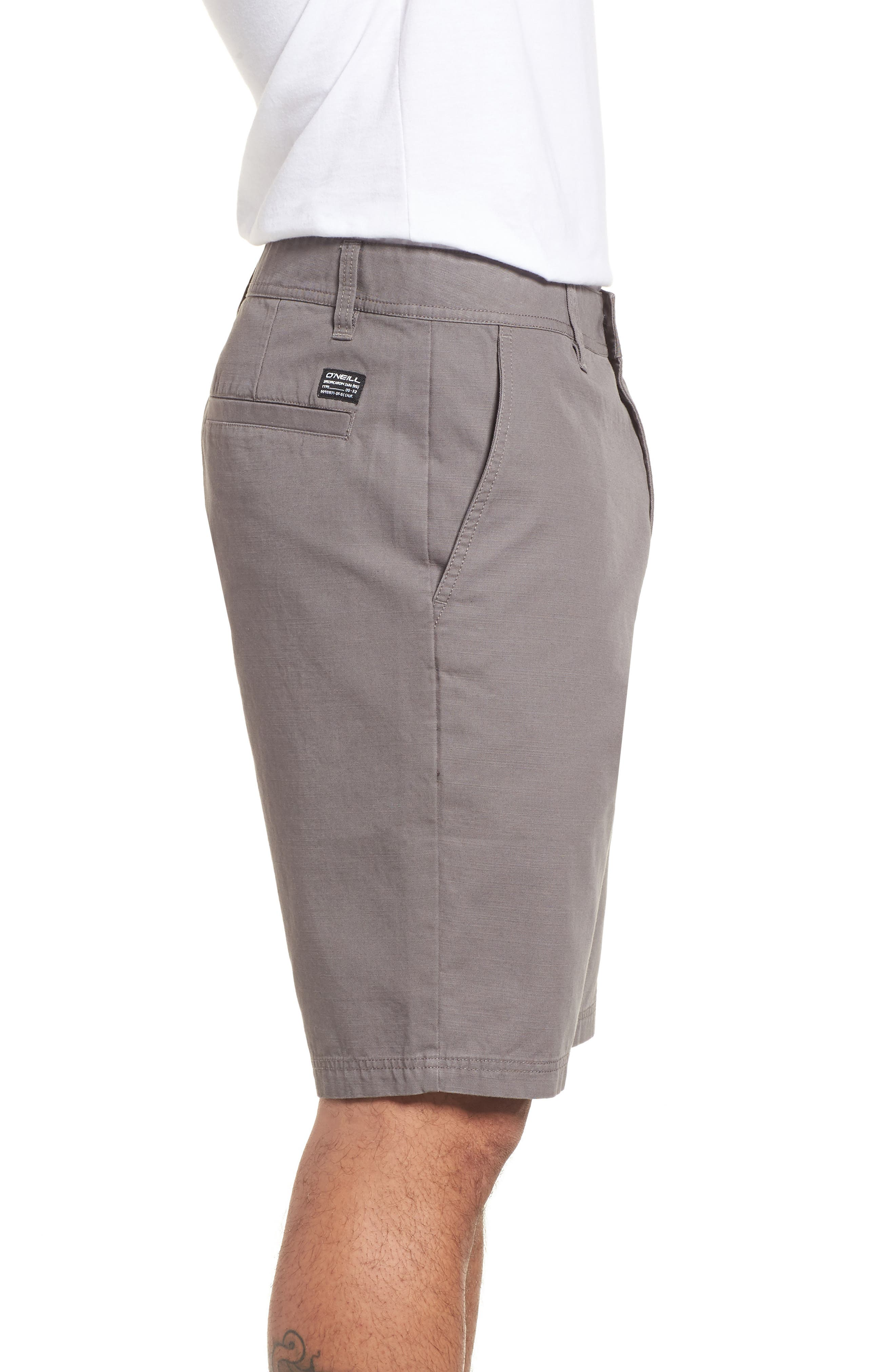 Jay Chino Shorts,                             Alternate thumbnail 3, color,                             Grey