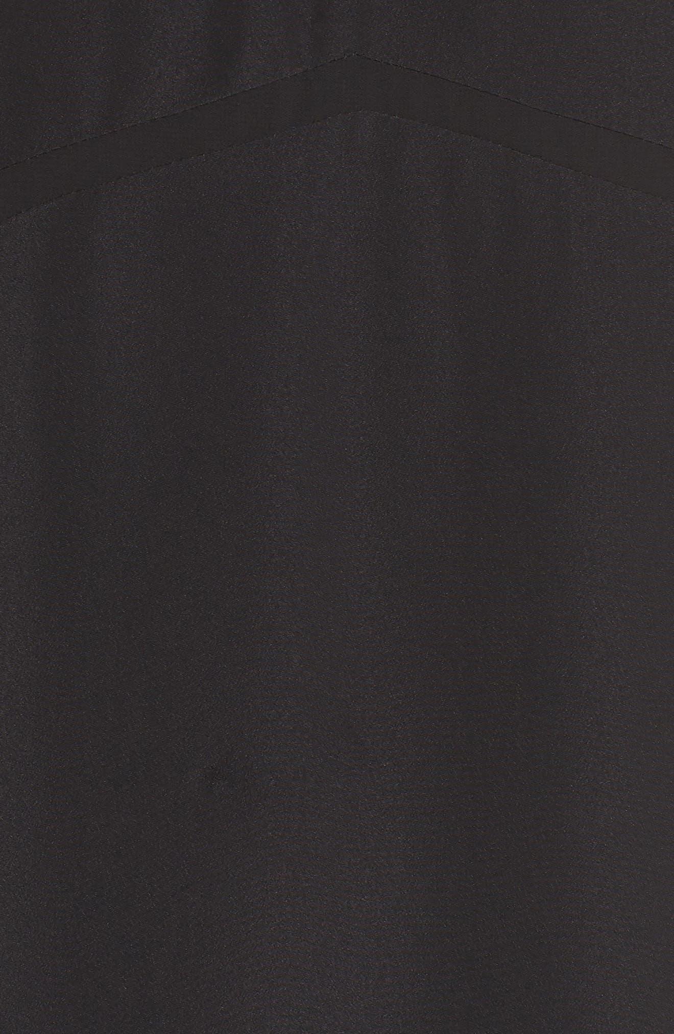 Hampton Maxi Dress,                             Alternate thumbnail 6, color,                             Black