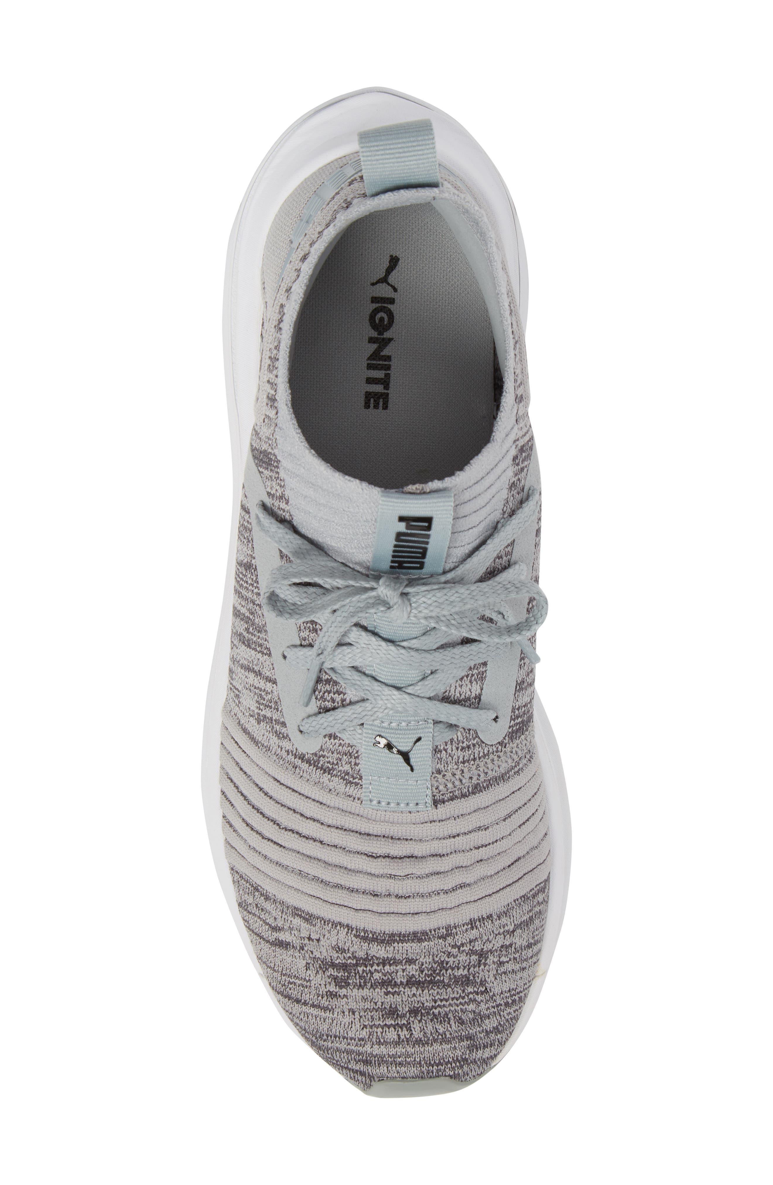 IGNITE Limitless SR evoKNIT Sneaker,                             Alternate thumbnail 5, color,                             Quarry