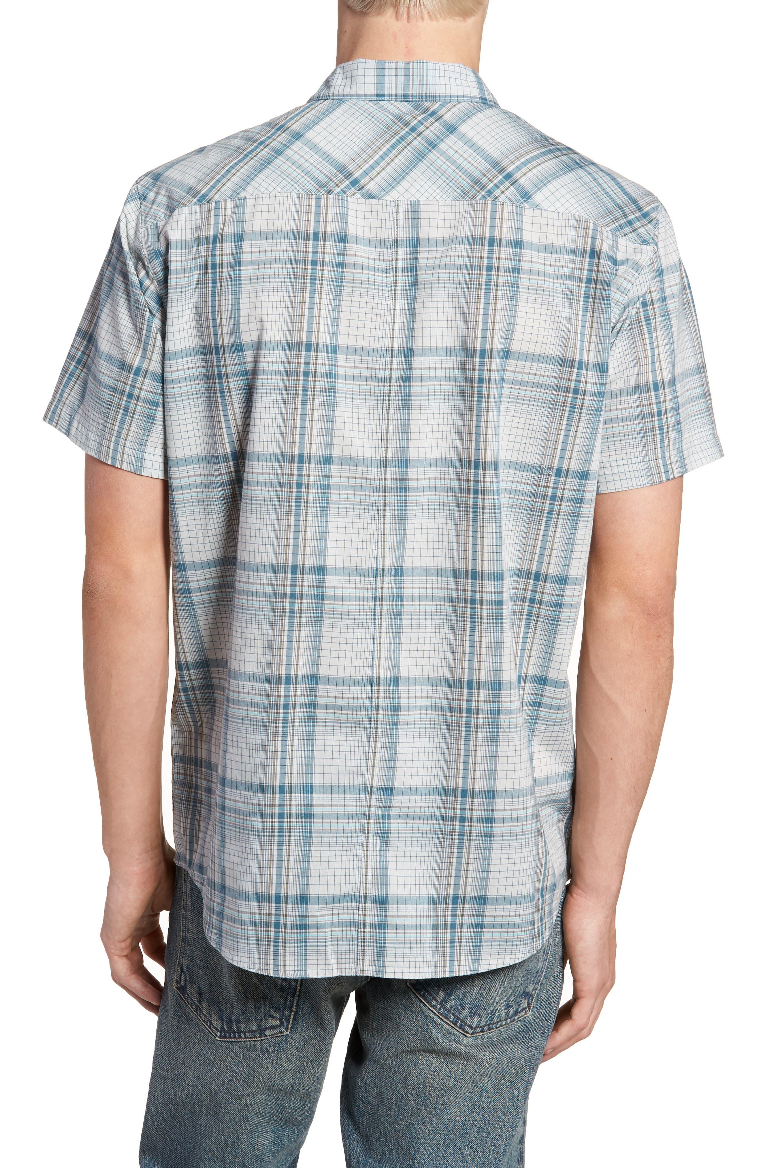 Gentry Short Sleeve Shirt,                             Alternate thumbnail 3, color,                             White