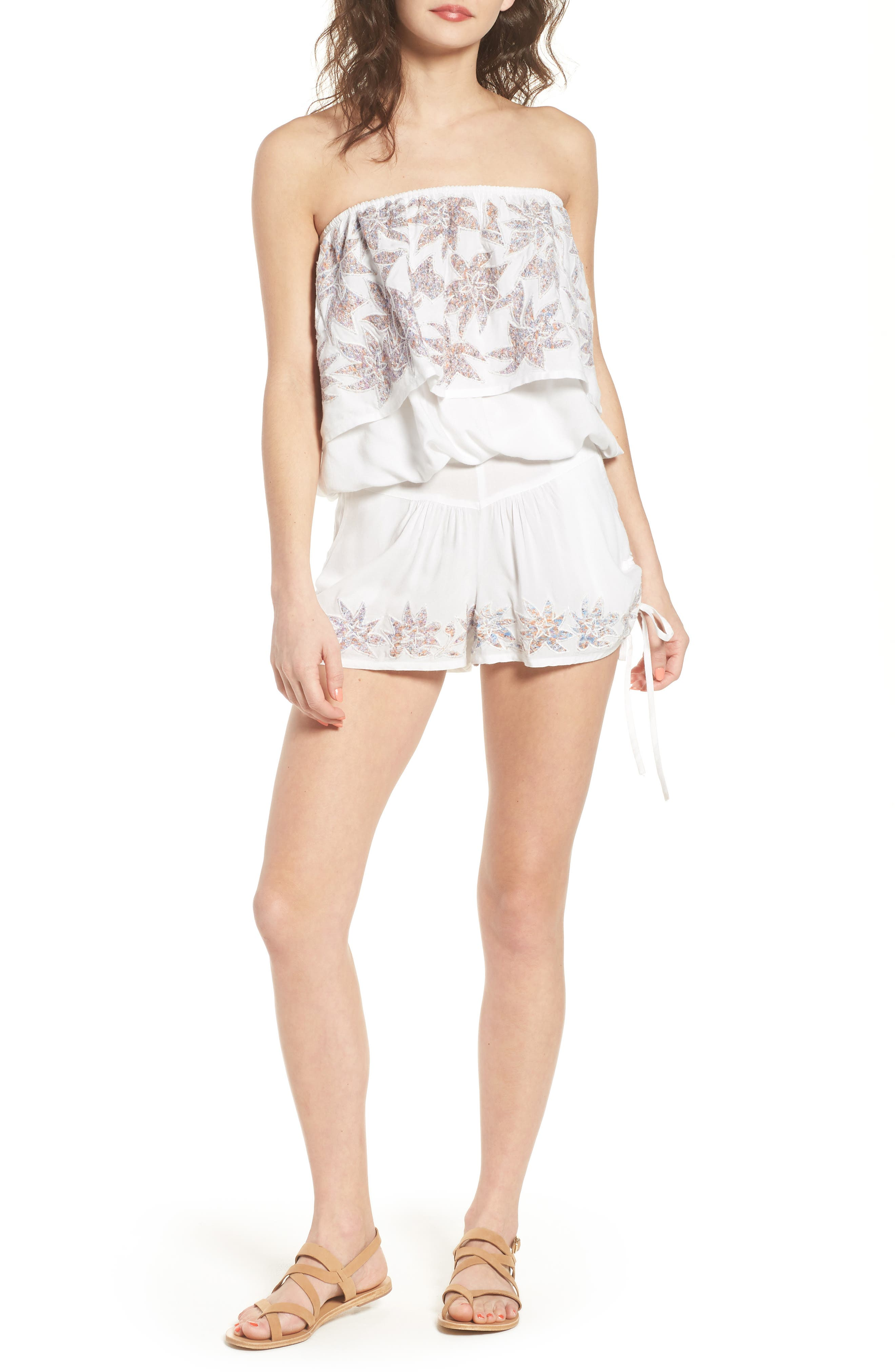 Alternate Image 2  - Raga Lotus Love Side Tie Shorts
