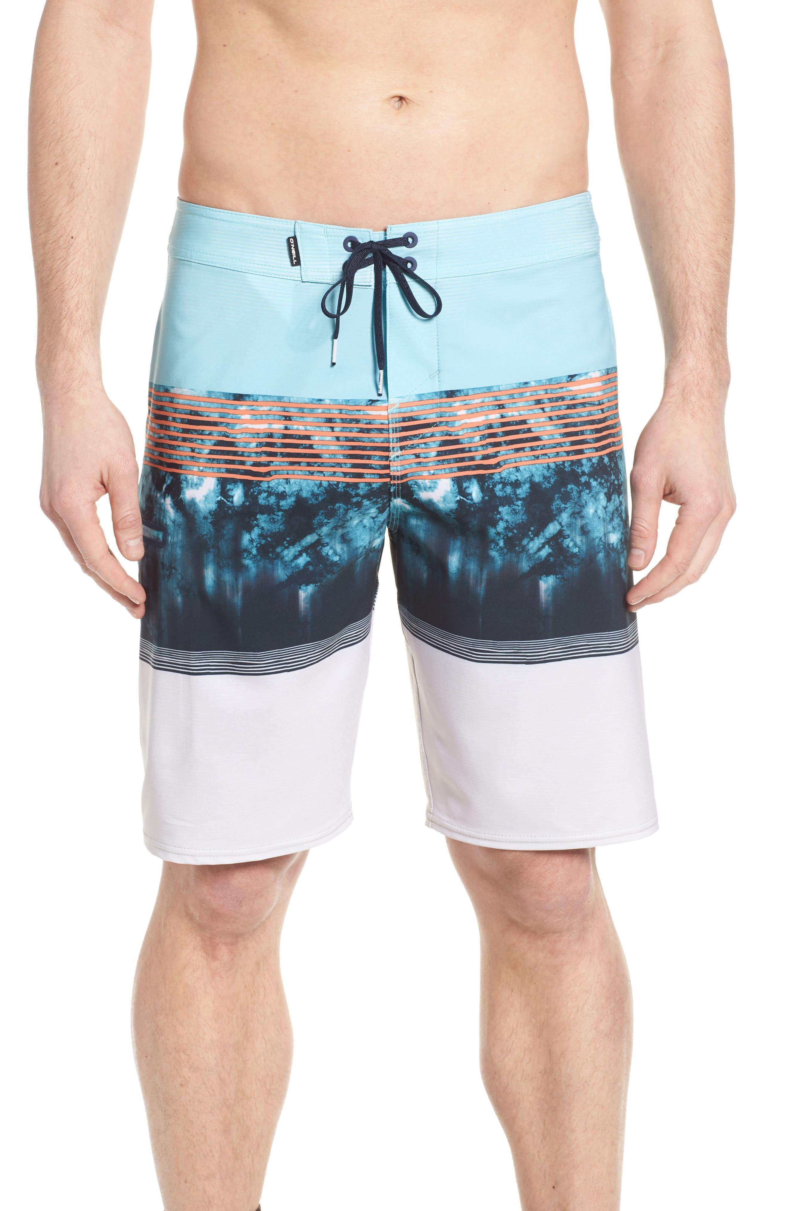 Hyperfreak Board Shorts,                         Main,                         color, Pool