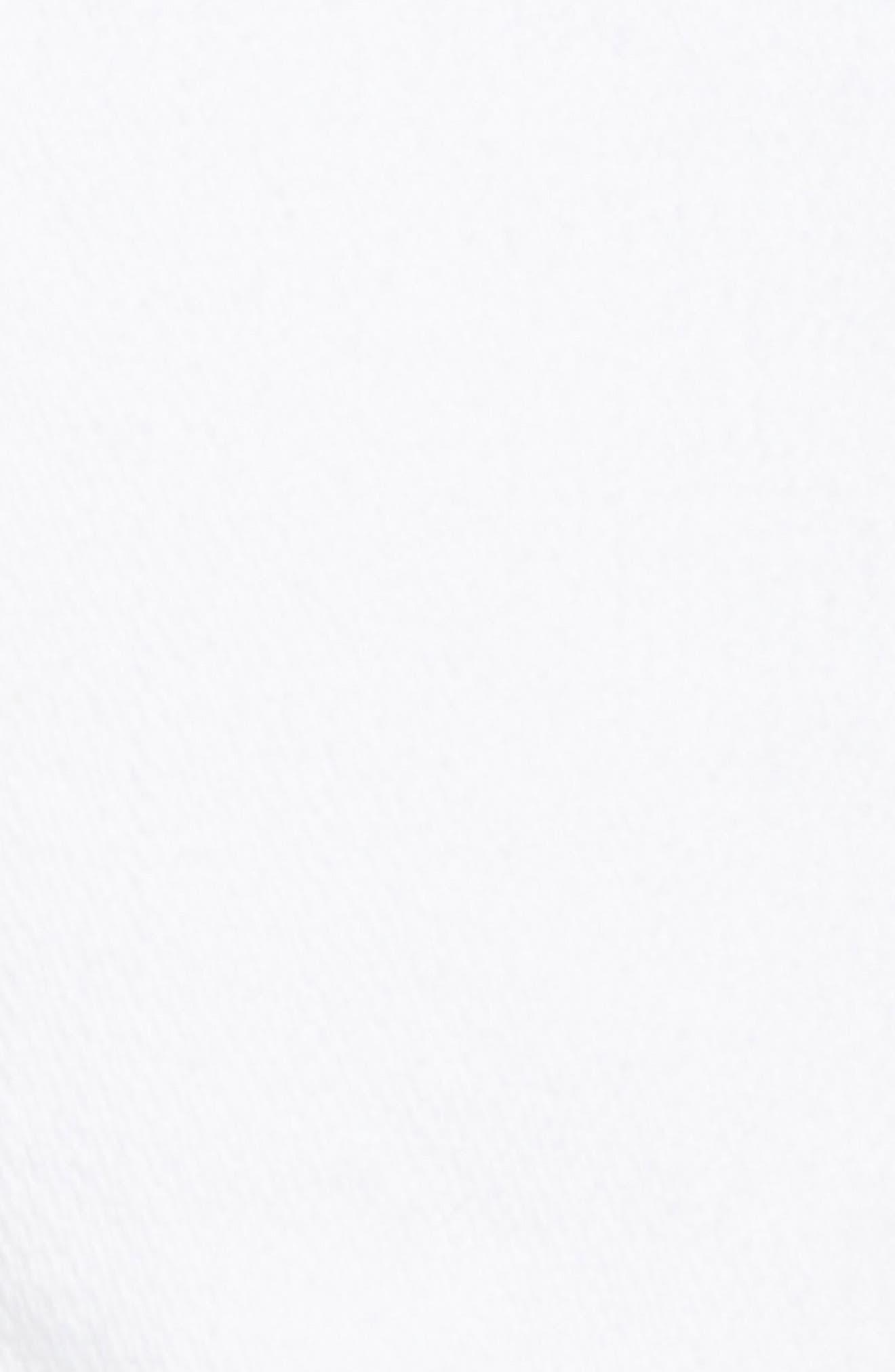 Kieras Cutoff Denim Shorts,                             Alternate thumbnail 6, color,                             Eucd Optic White