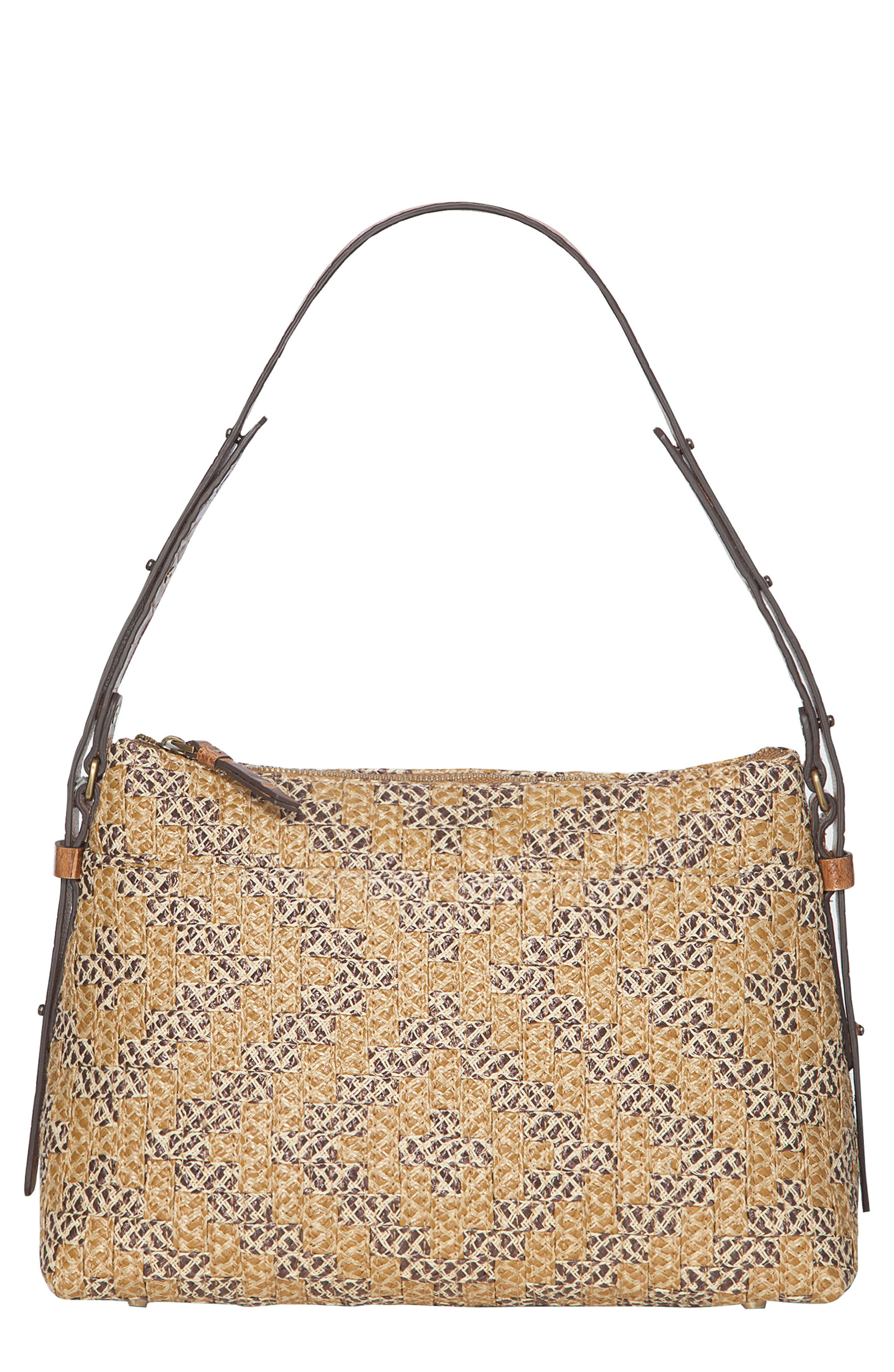 Athena Squishee<sup>®</sup> Shoulder Bag,                             Main thumbnail 1, color,                             Natural Mix