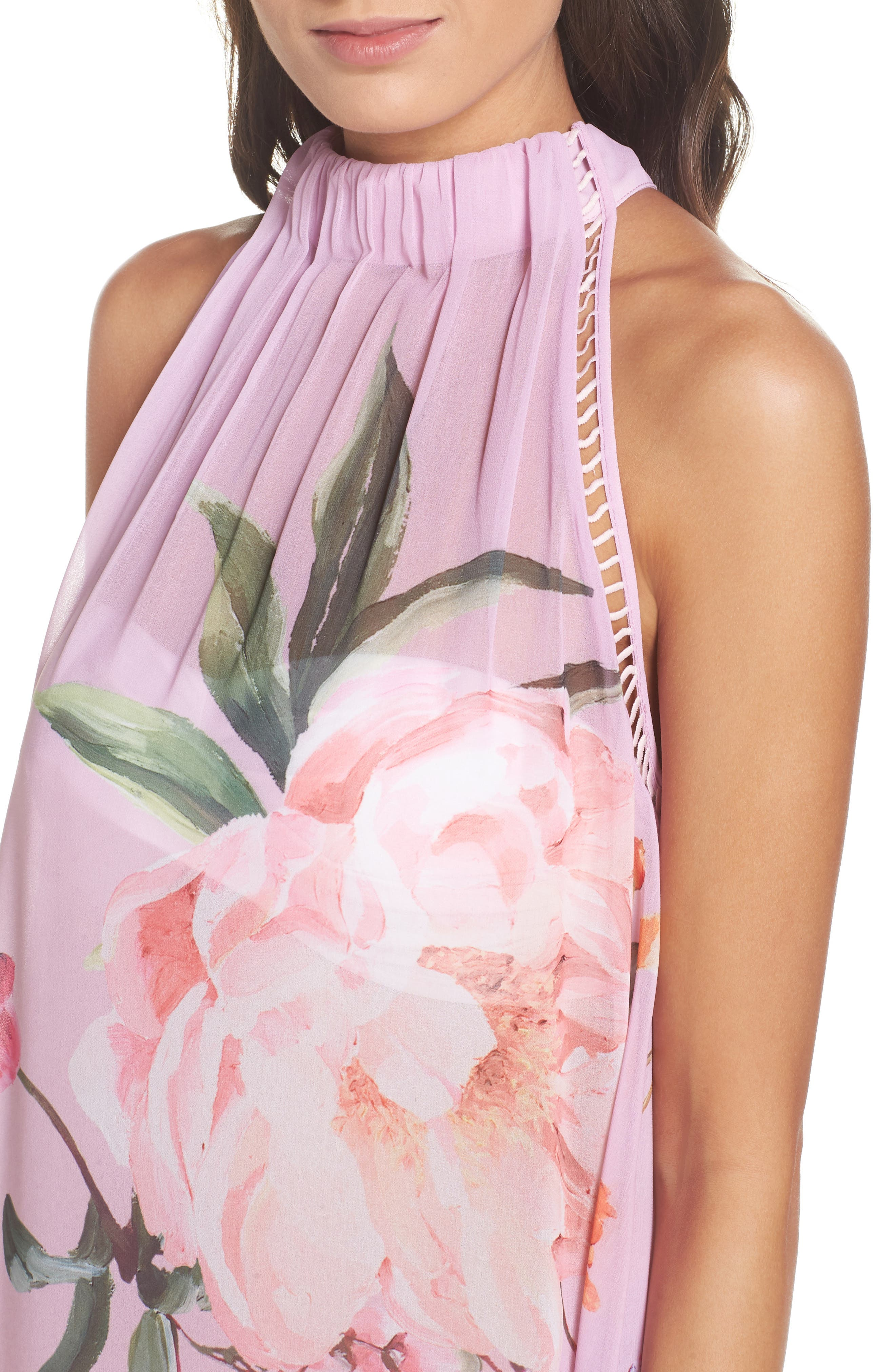 Serenity Scallop Cover-Up,                             Alternate thumbnail 4, color,                             Pale Pink