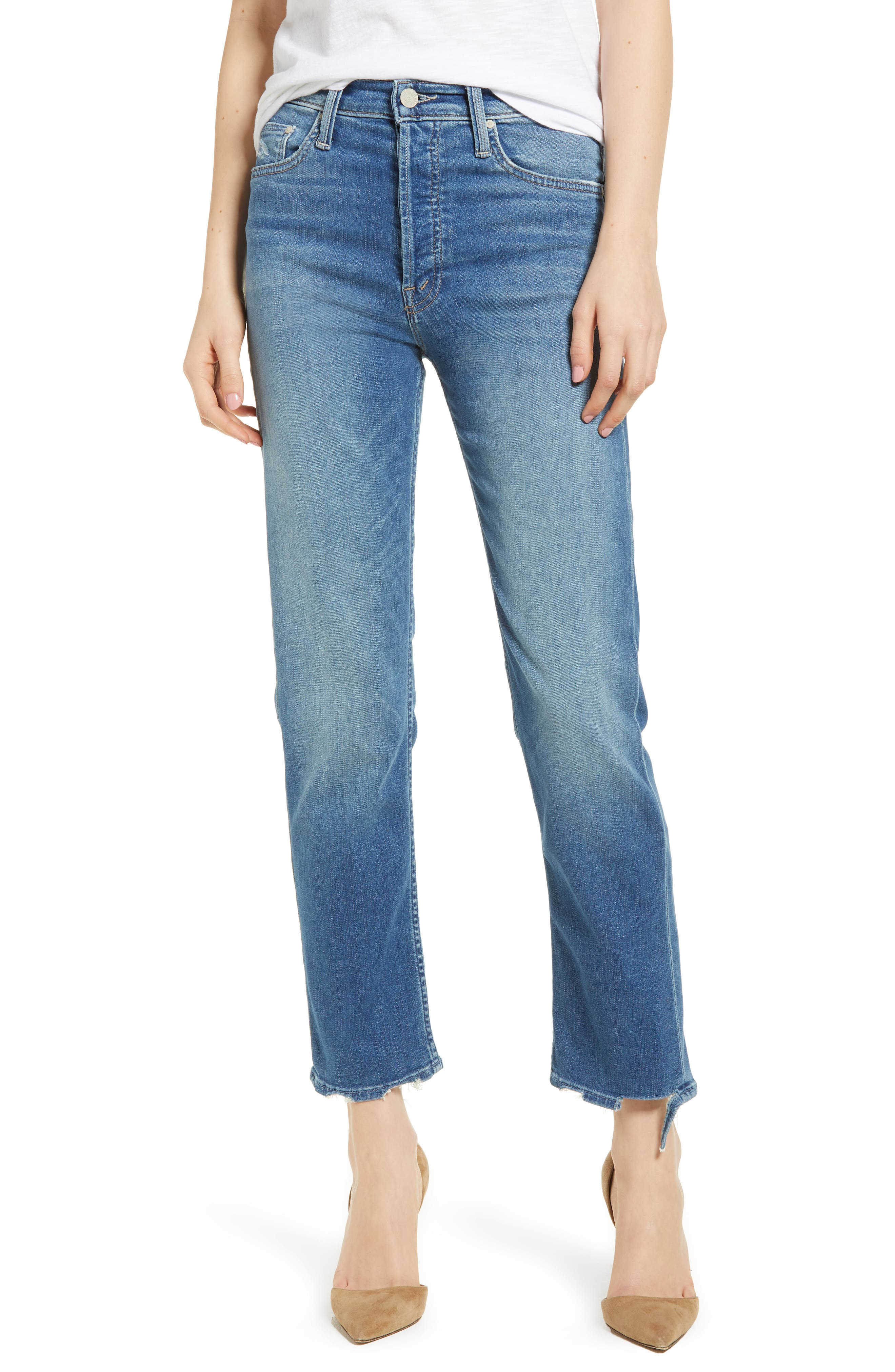 The Tomcat Ankle Straight Leg Jeans,                         Main,                         color, Tequila Mockingbird