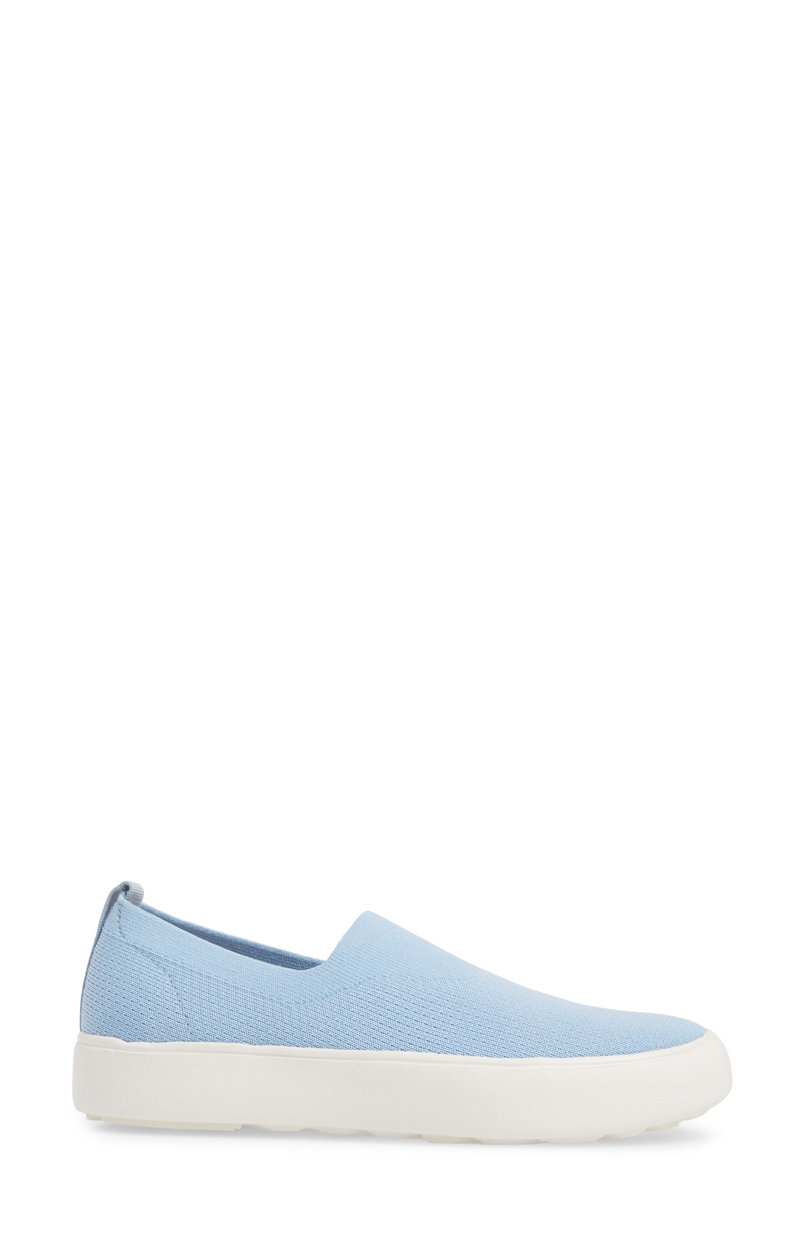 Hula Slip-On Sneaker,                             Alternate thumbnail 3, color,                             Fog Blue