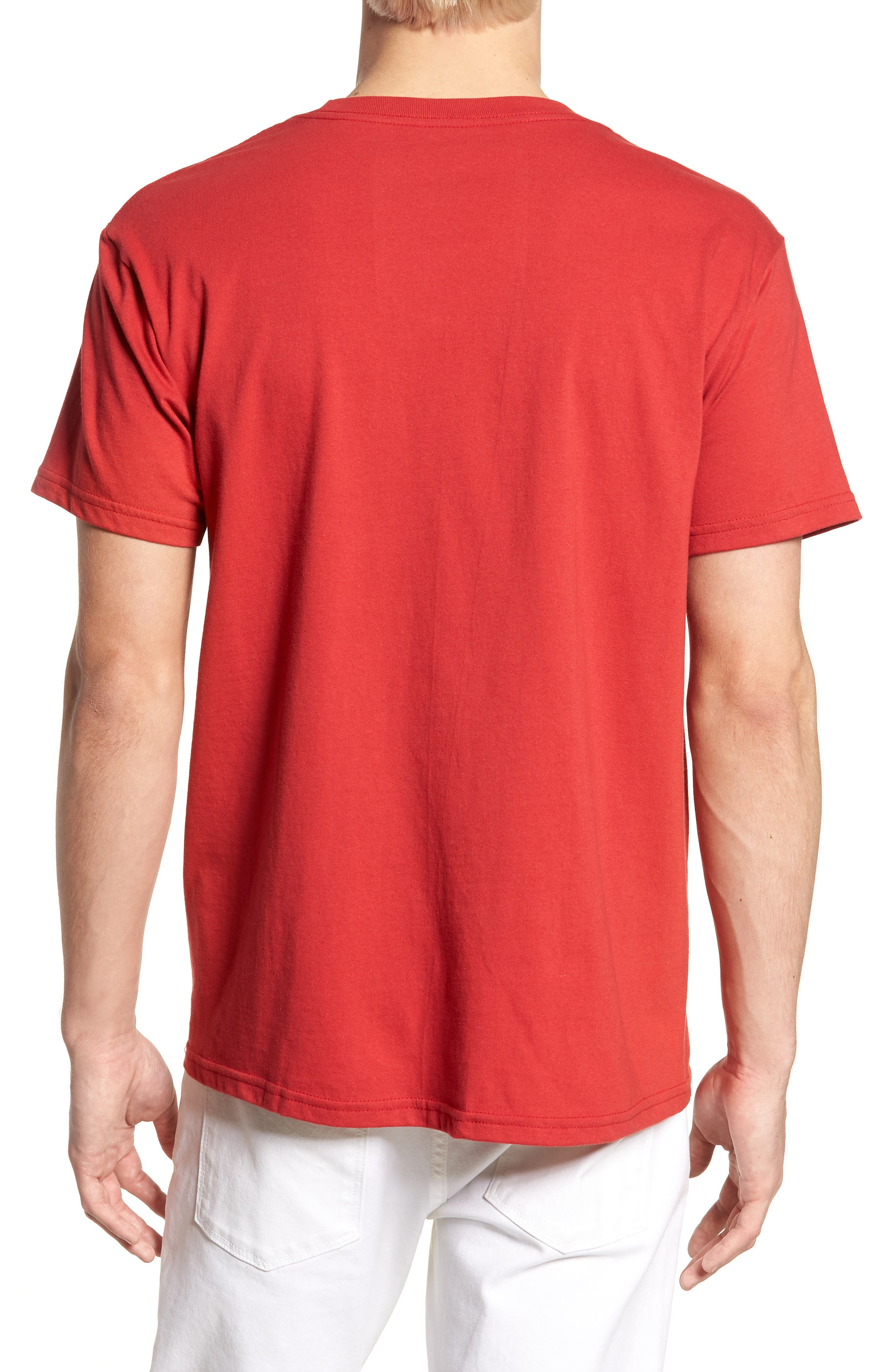 First In Graphic T-Shirt,                             Alternate thumbnail 2, color,                             Red