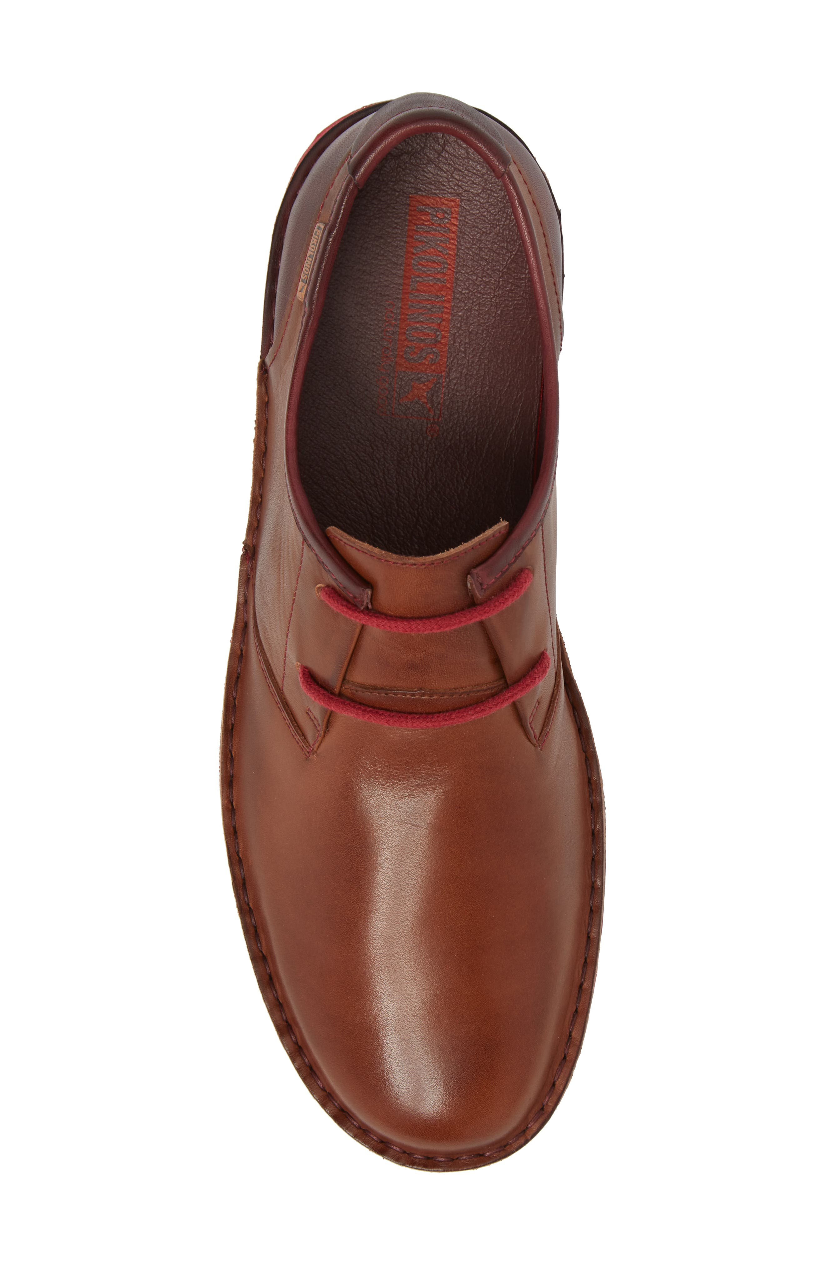 'Santiago' Plain Toe Derby,                             Alternate thumbnail 5, color,                             Cuero Leather