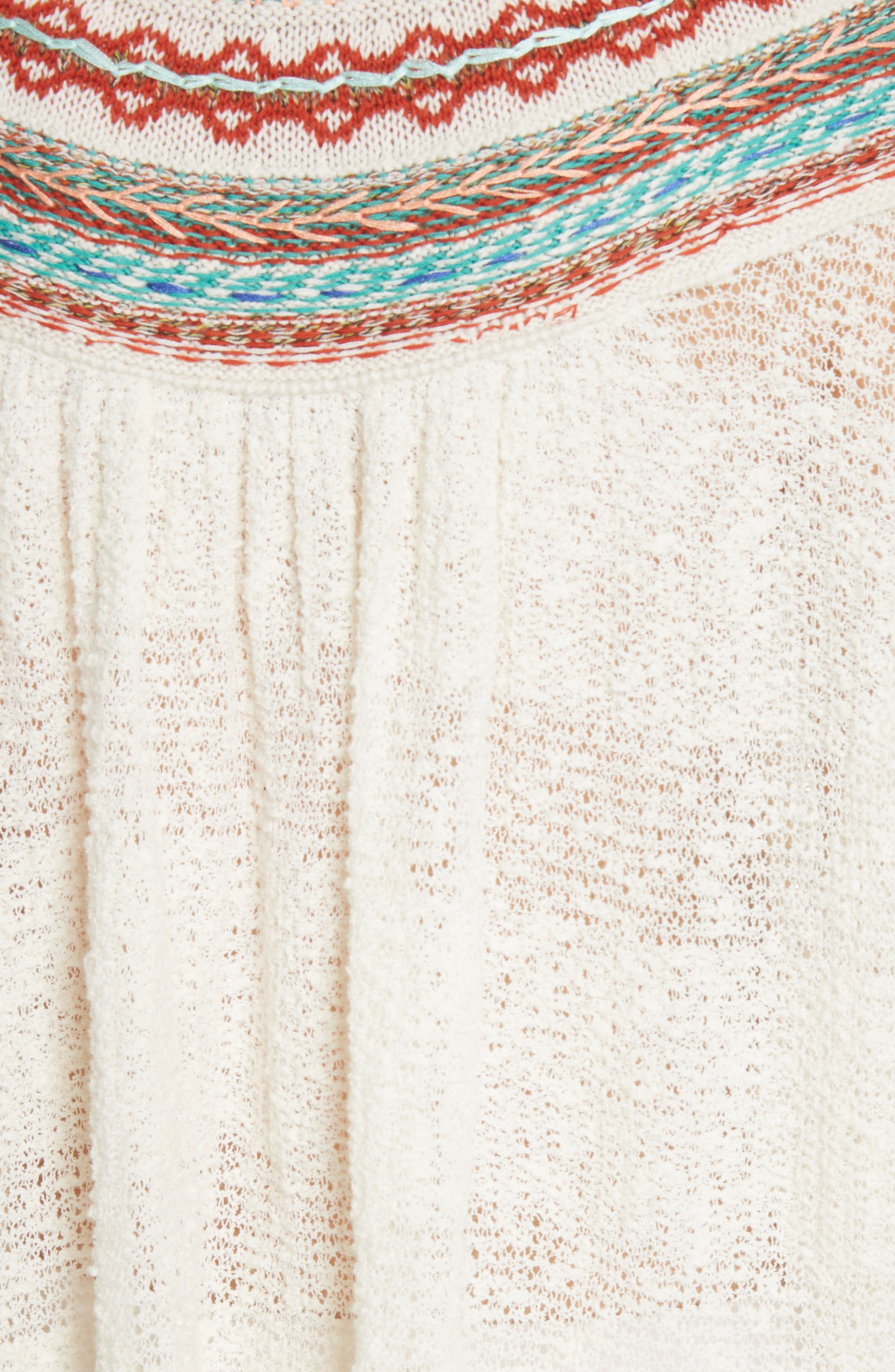 Vacation Sweater,                             Alternate thumbnail 5, color,                             Ivory