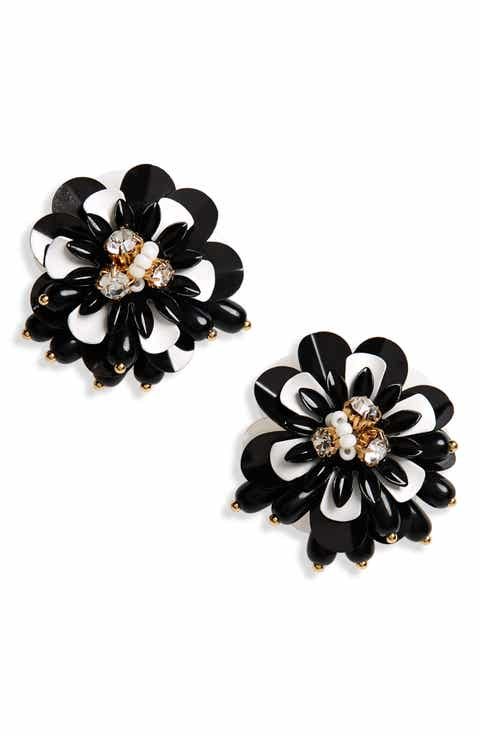 Black accessories easter gifts nordstrom kate spade new york vibrant life statement earrings negle Images