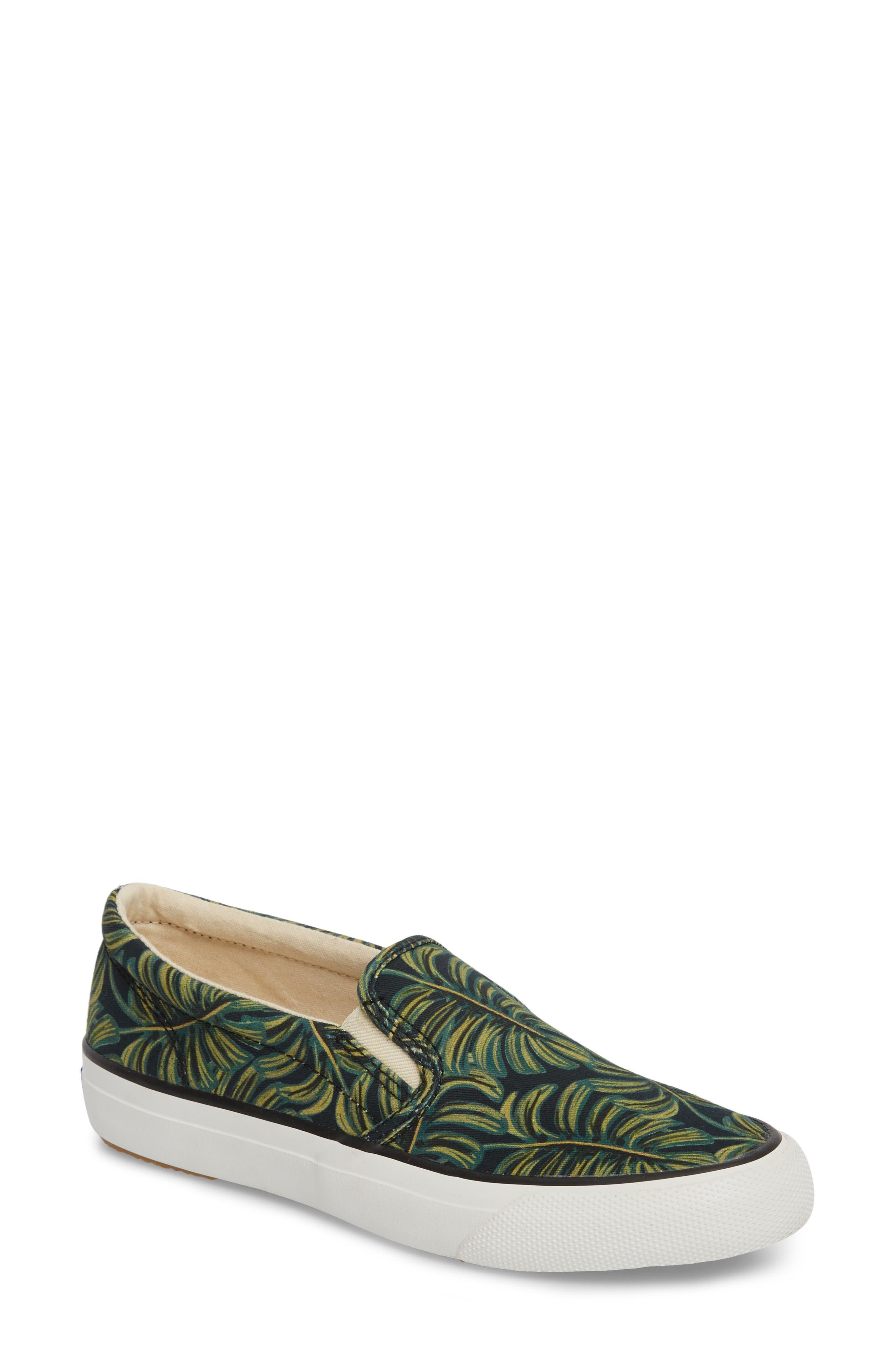 Keds® x Rifle Paper Co. Anchor Palms Slip-On Sneaker (Women)
