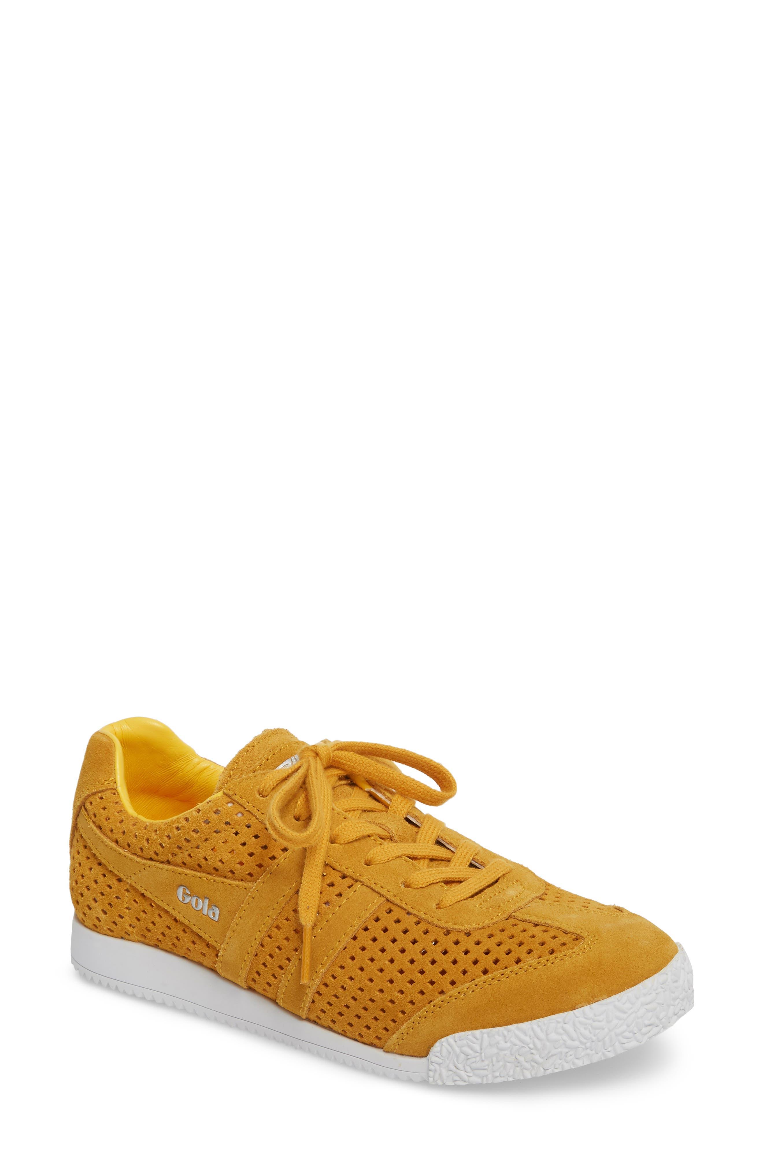 Gola Harrier Squared Low Top Sneaker (Women)
