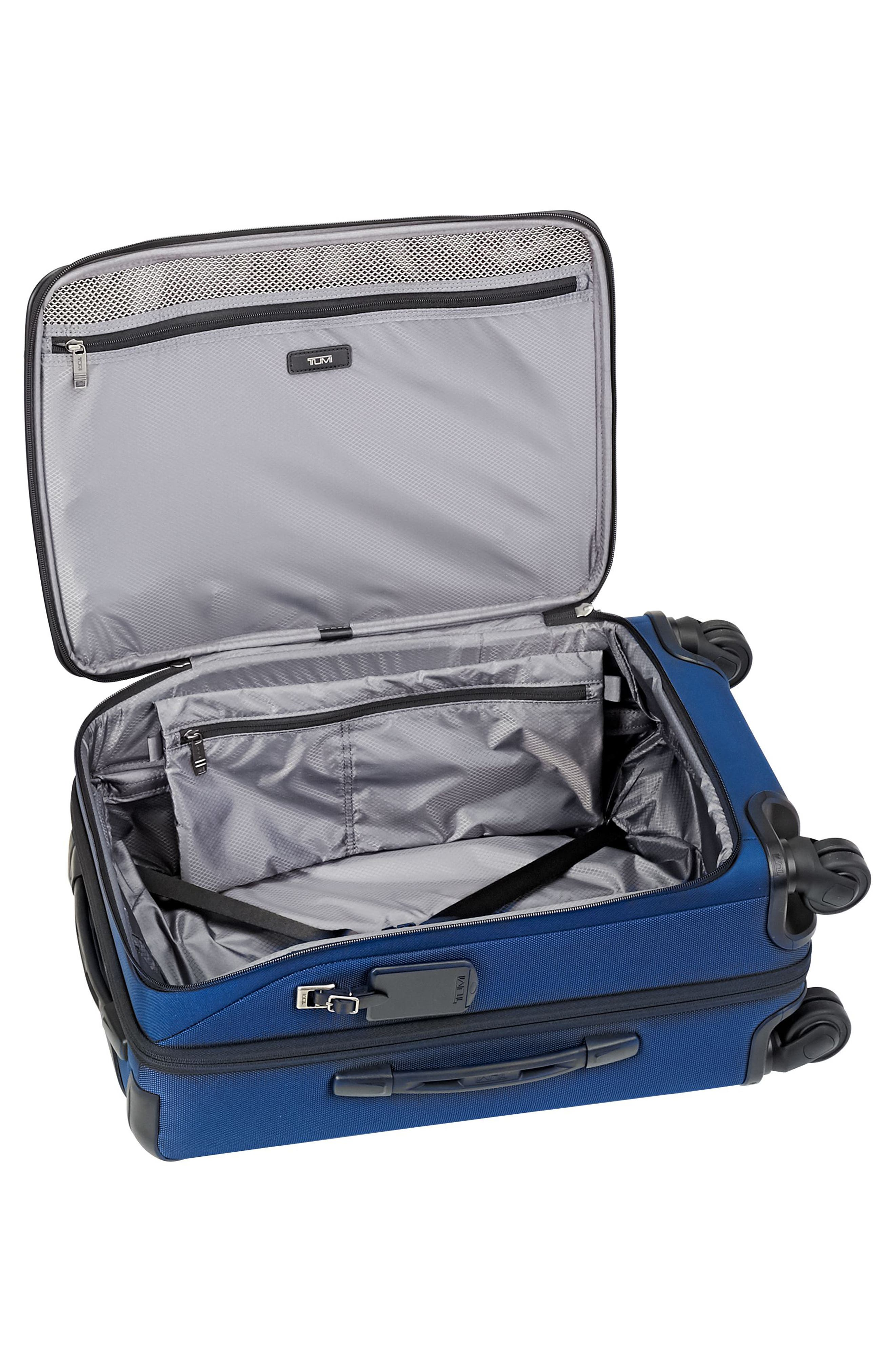 Merge - International Expandable Rolling Carry-On,                             Alternate thumbnail 4, color,                             Ocean Blue