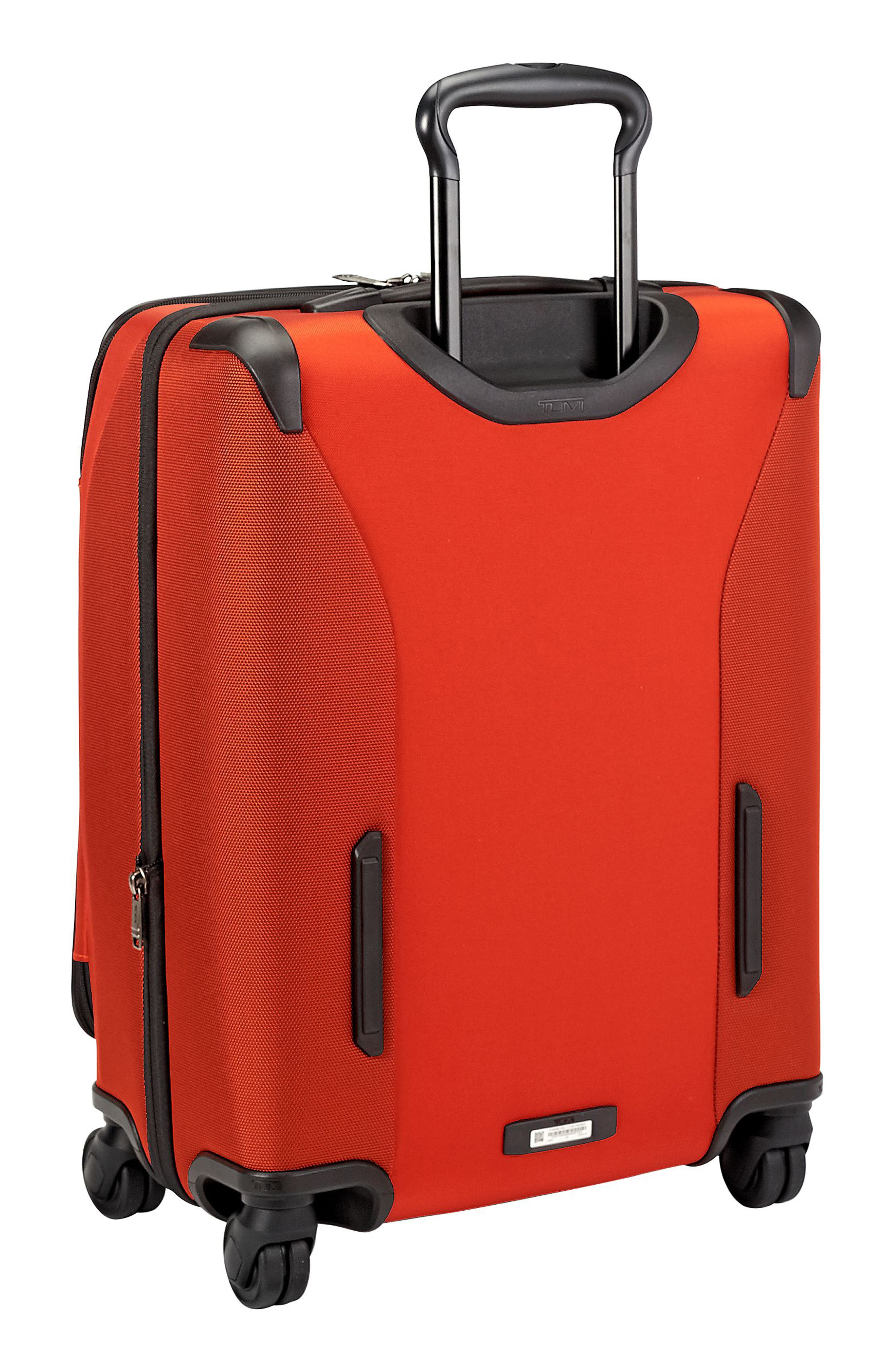 Merge - Continental Expandable Rolling Carry-On,                             Alternate thumbnail 5, color,                             Sunset Red
