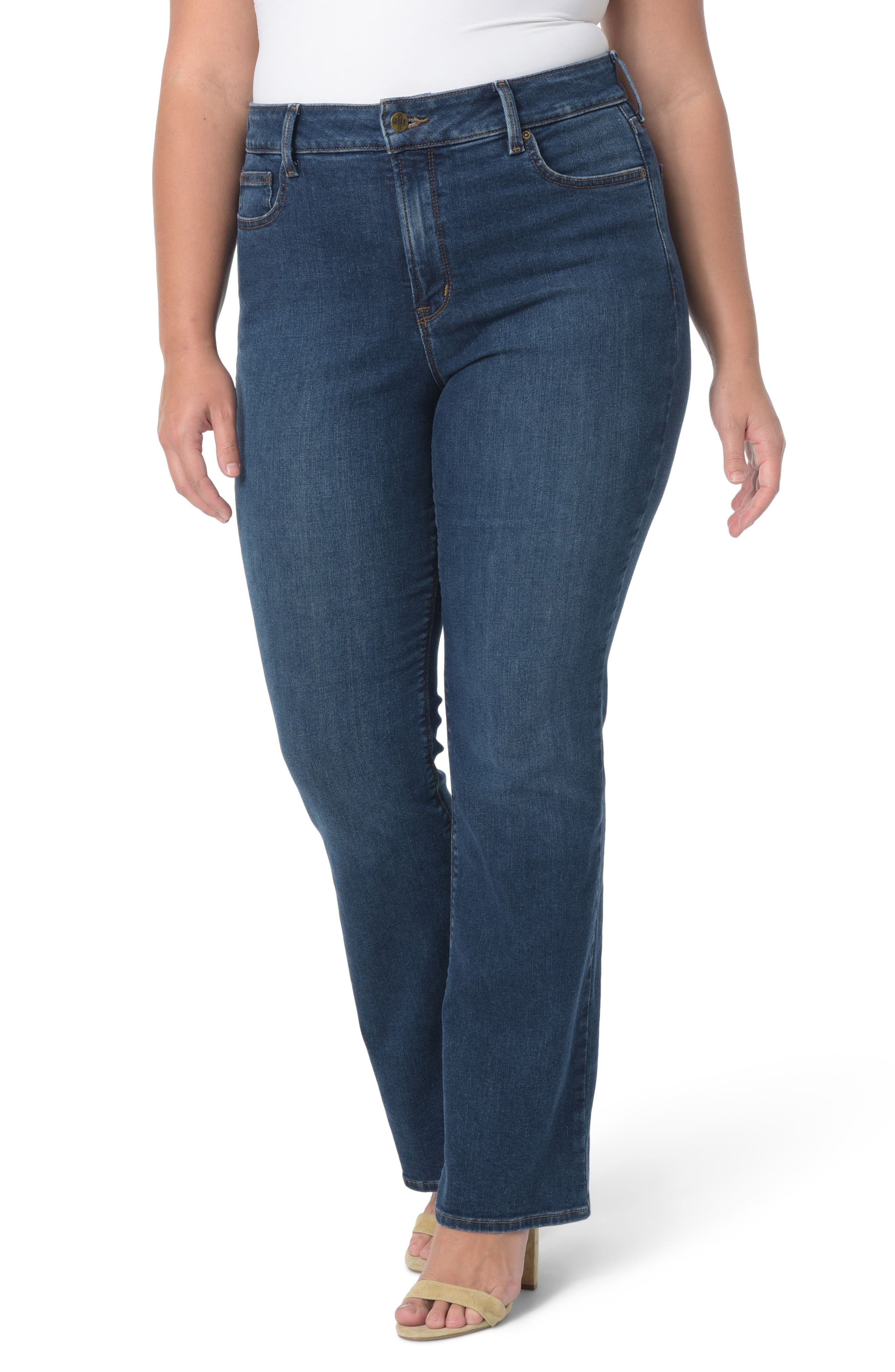 Barbara Stretch Bootcut Jeans,                             Main thumbnail 1, color,                             Cooper